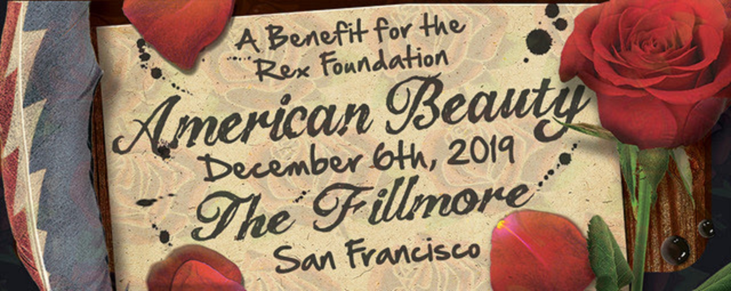 More artists joining Rex Benefit for American Beauty!