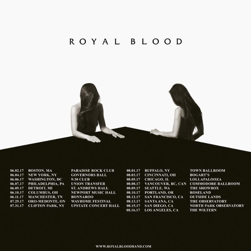 Royal Blood Announce 2017 Summer Tour