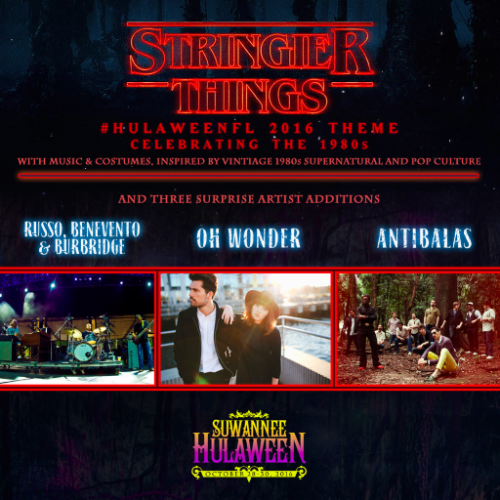 Suwannee Hulaween Announces '16 Theme