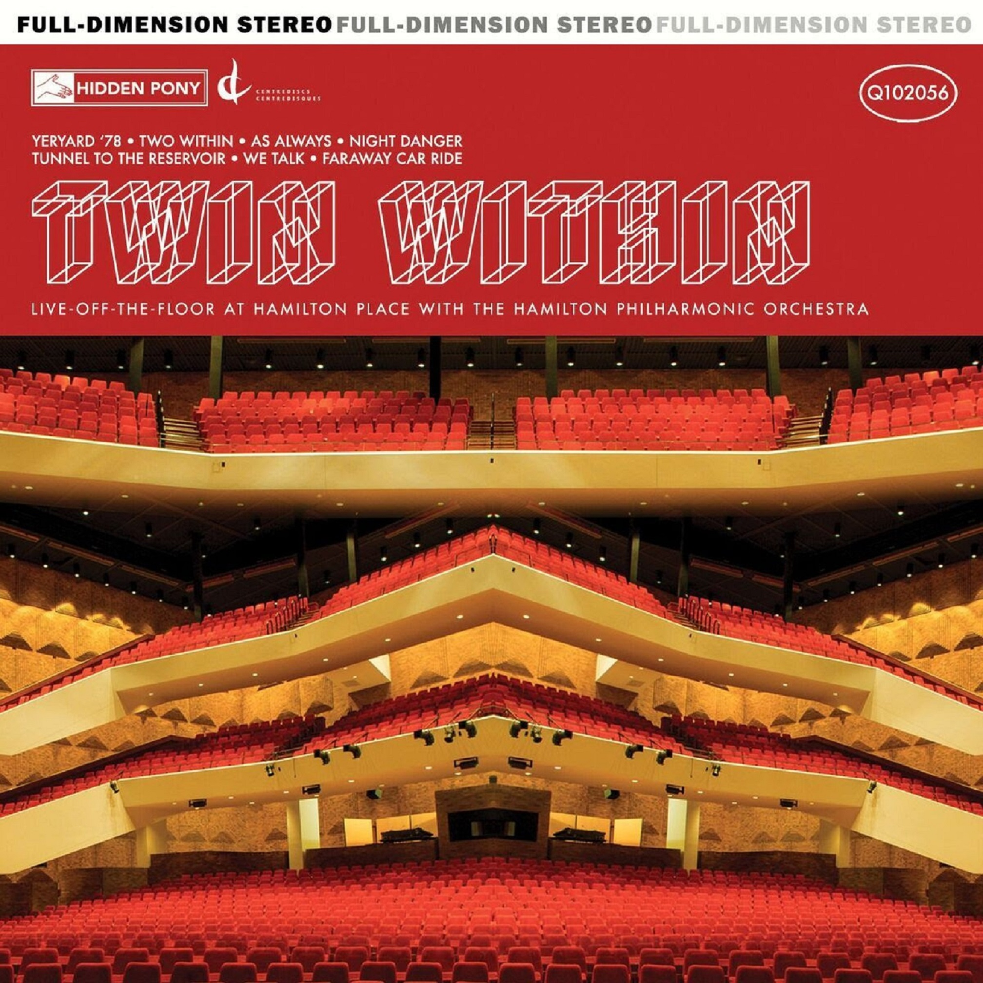 Twin Within Share Live Album w/ Hamilton Philharmonic Orchestra