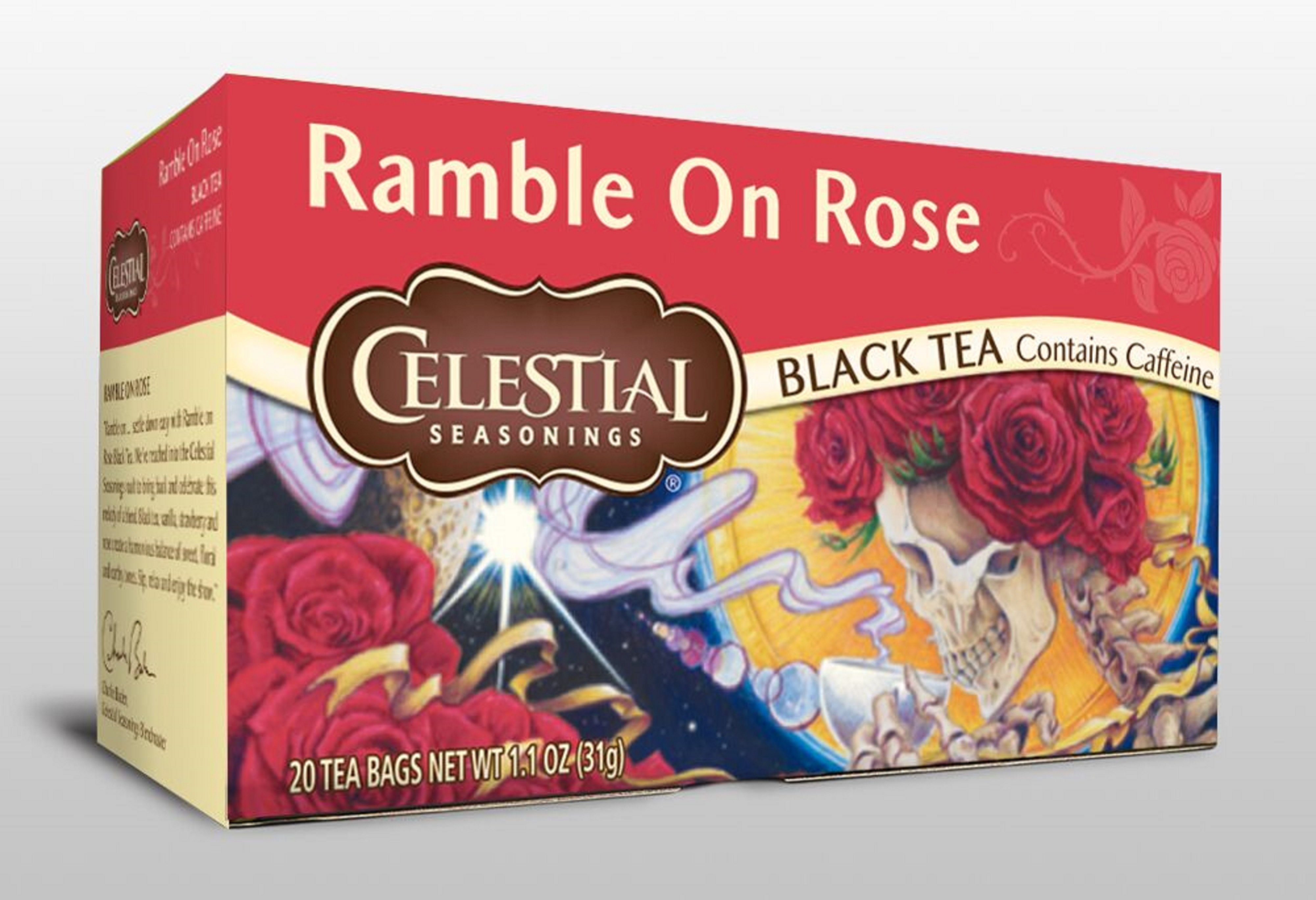 CELESTIAL SEASONINGS AND HEADCOUNT TEAM UP TO RELEASE MUSIC THEMED TEAS