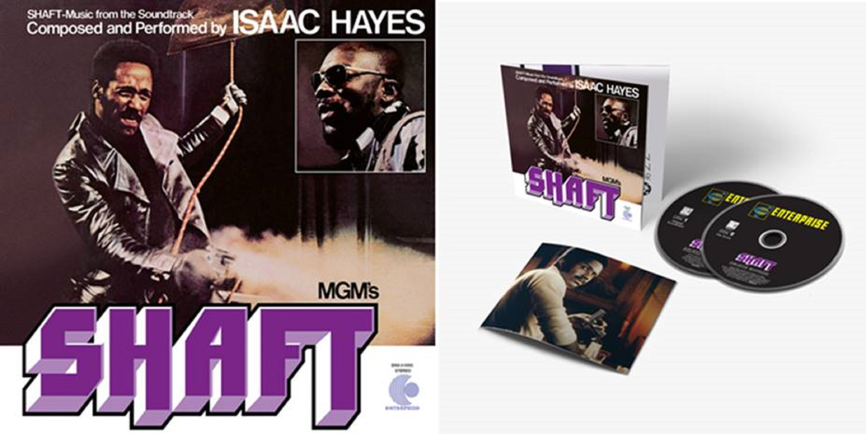 SHAFT — MUSIC FROM THE SOUNDTRACK SET FOR DELUXE REISSUE JUNE 14th