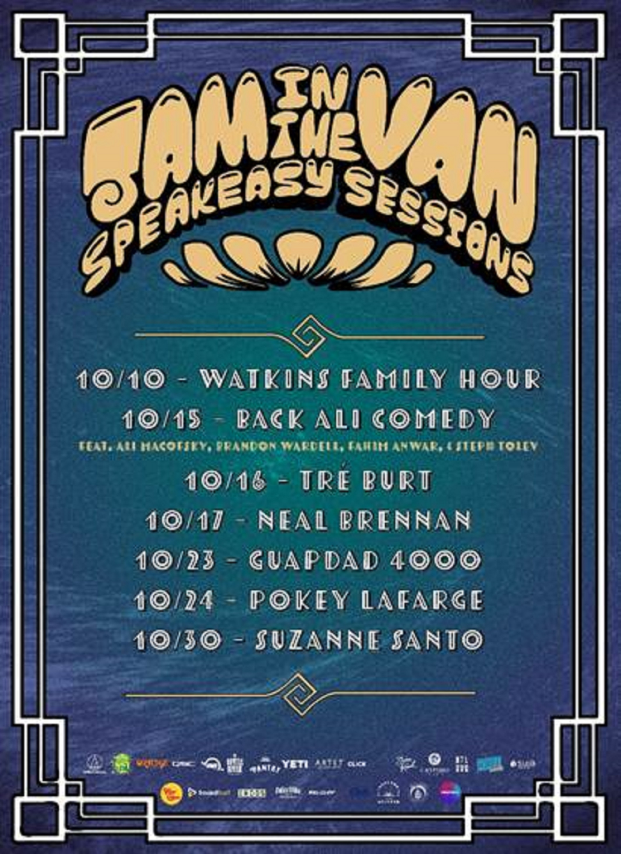 Jam In The Van Announces Speakeasy Sessions