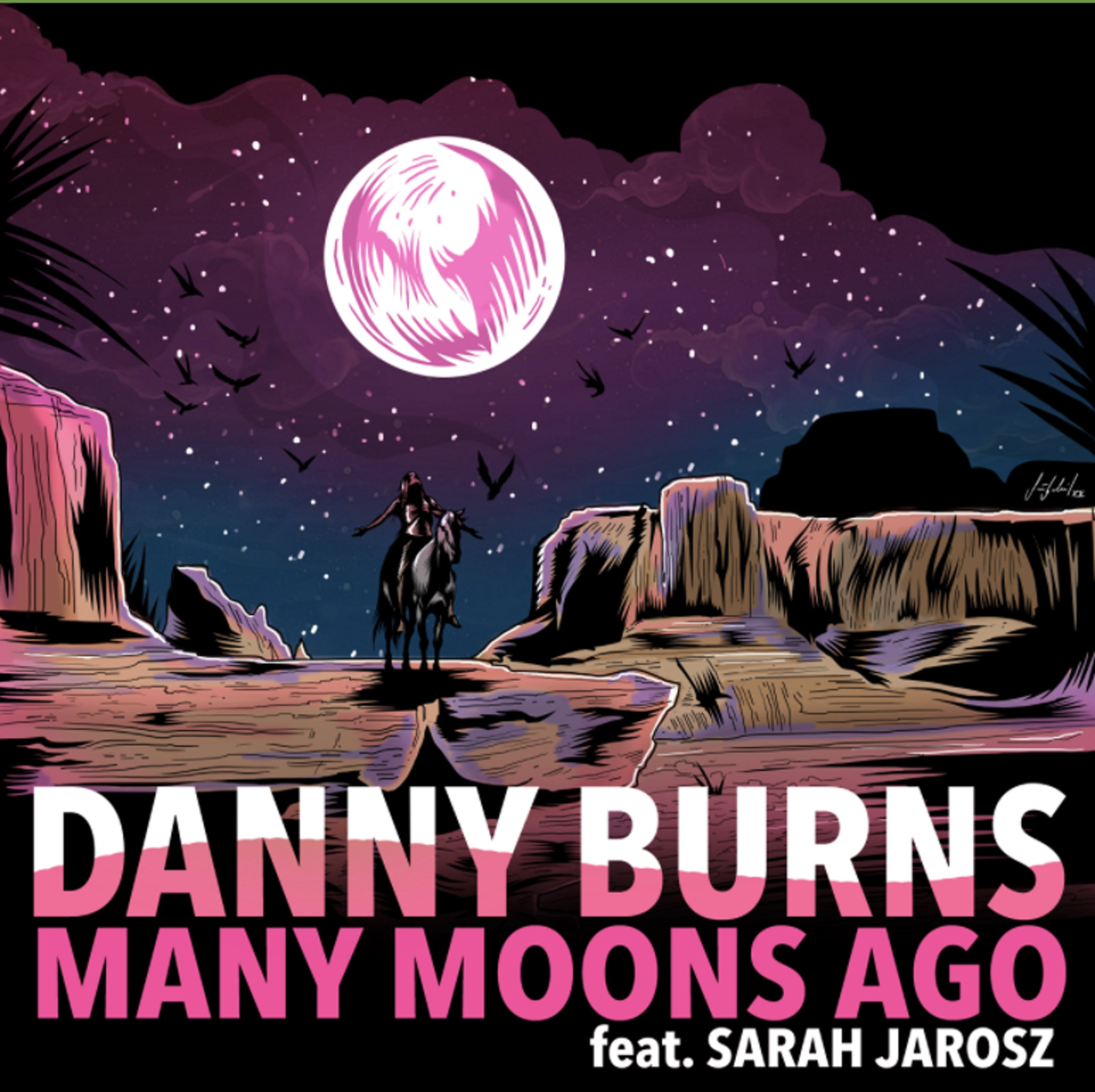 "Danny Burns Teams Up With Sarah Jarosz For New Single ""Many Moons Ago"""