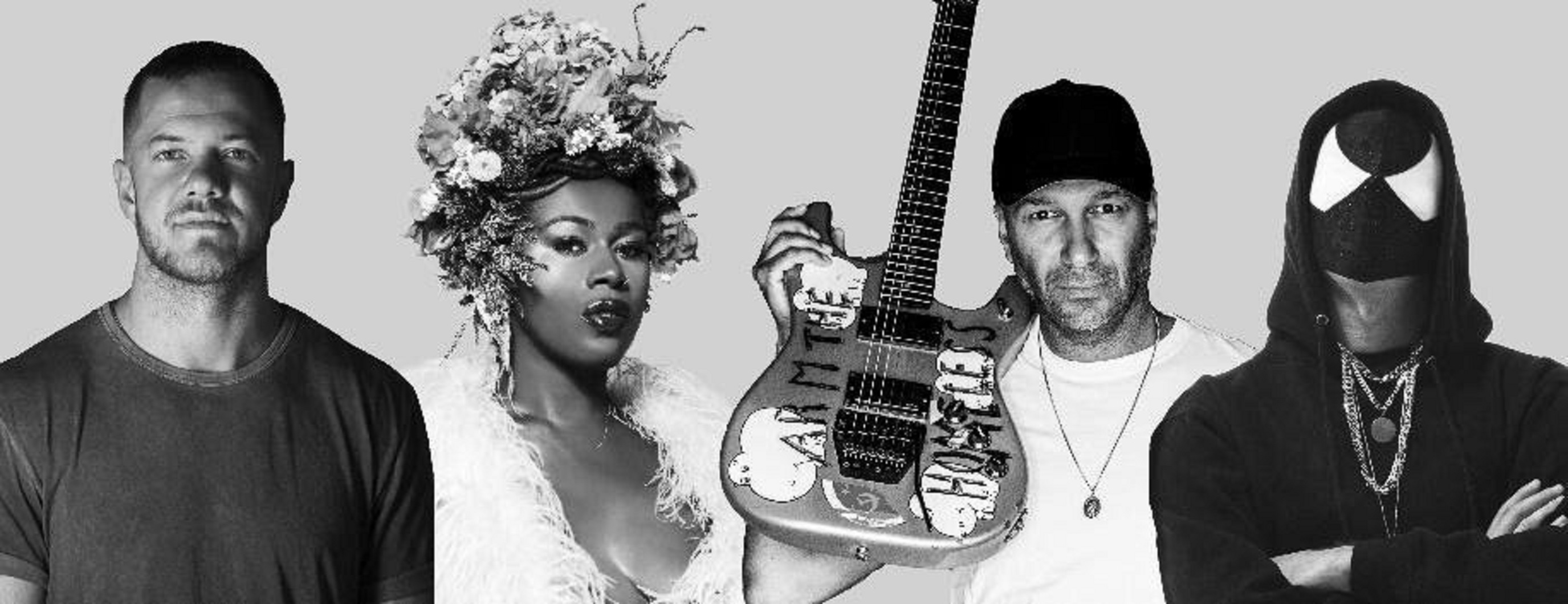 "Tom Morello x Shea Diamond x Dan Reynolds x The Bloody Beetroots Single ""Stand Up"" Out Now"