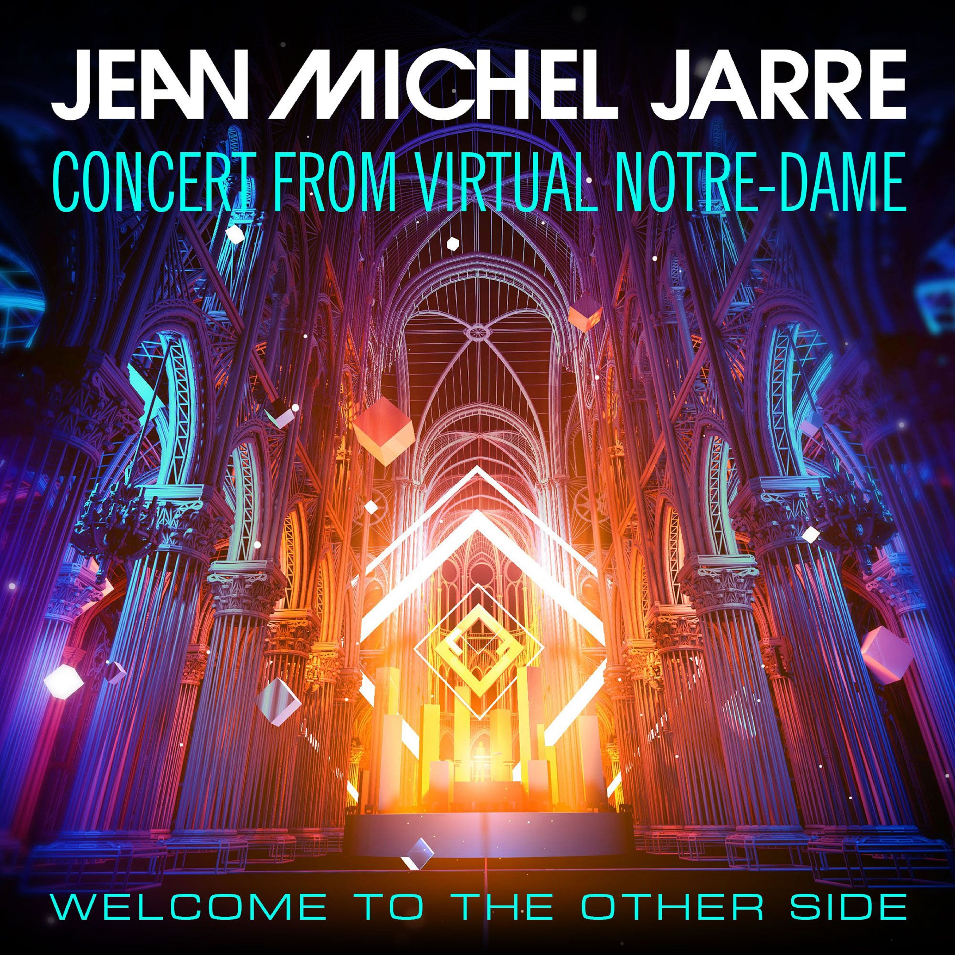 Jean-Michel Jarre Welcomed 2021 to 75 Million Viewers with Multi-Media VR  Concert Spectacular from Notre-Dame de Paris 'Welcome To The Other Side' |  Grateful Web