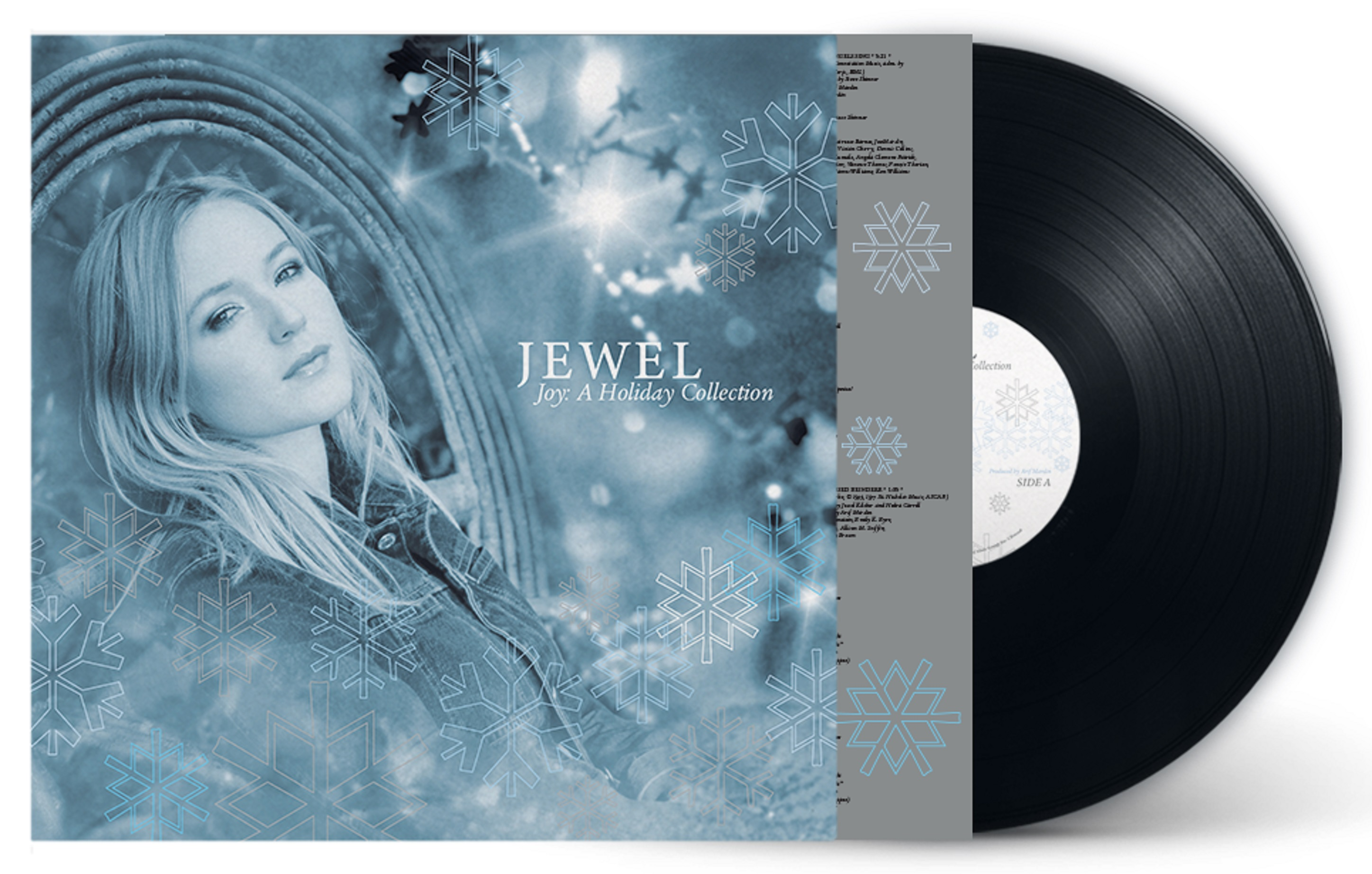 Jewel's platinum selling title 'Joy: A Holiday Collection' set for vinyl debut on 10/18