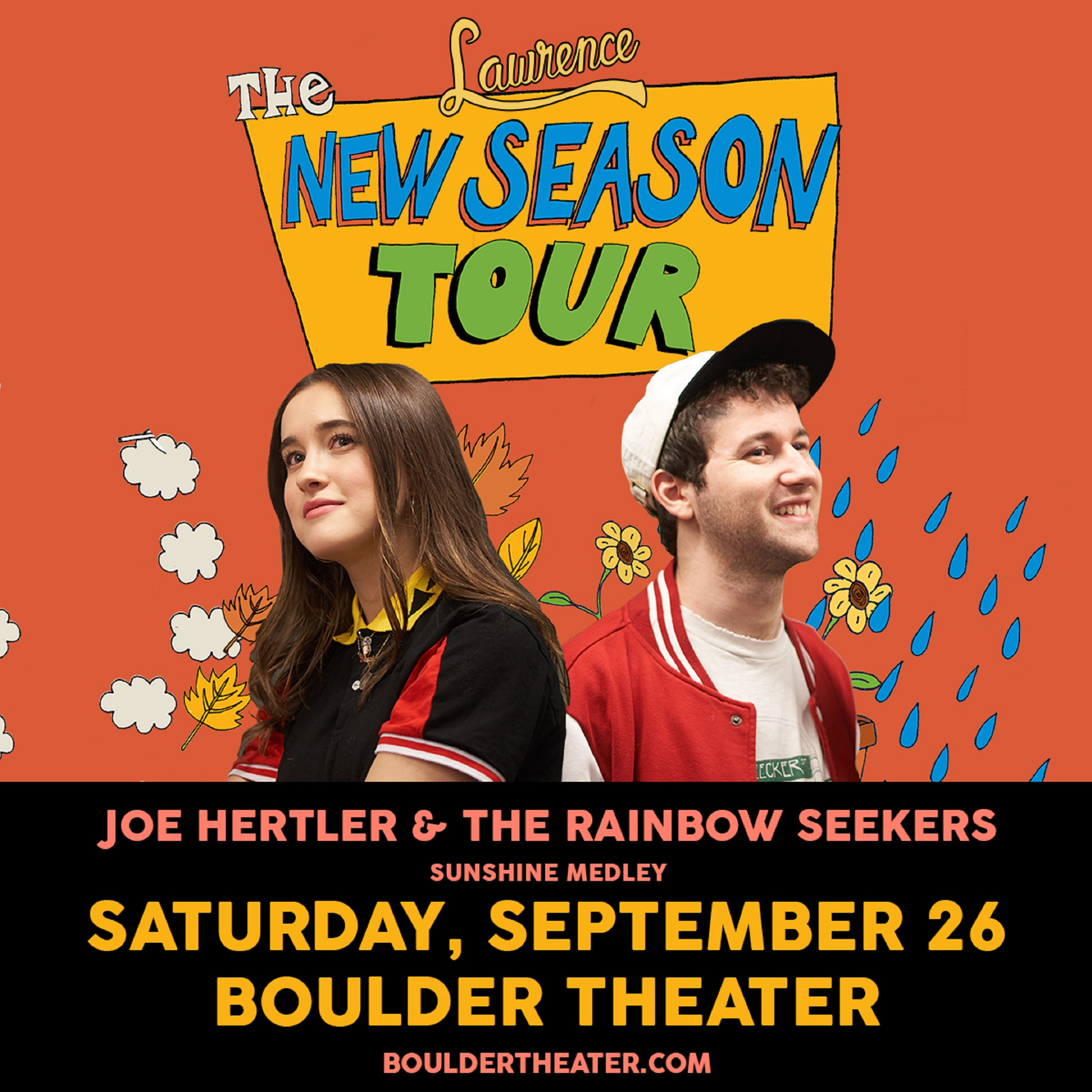 Lawrence w/ Joe Hertler & The Rainbow Seekers | Boulder Theater | 9/26/2020