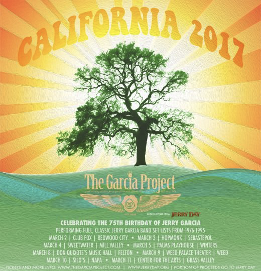 The Garcia Project Announce Northern California Tour