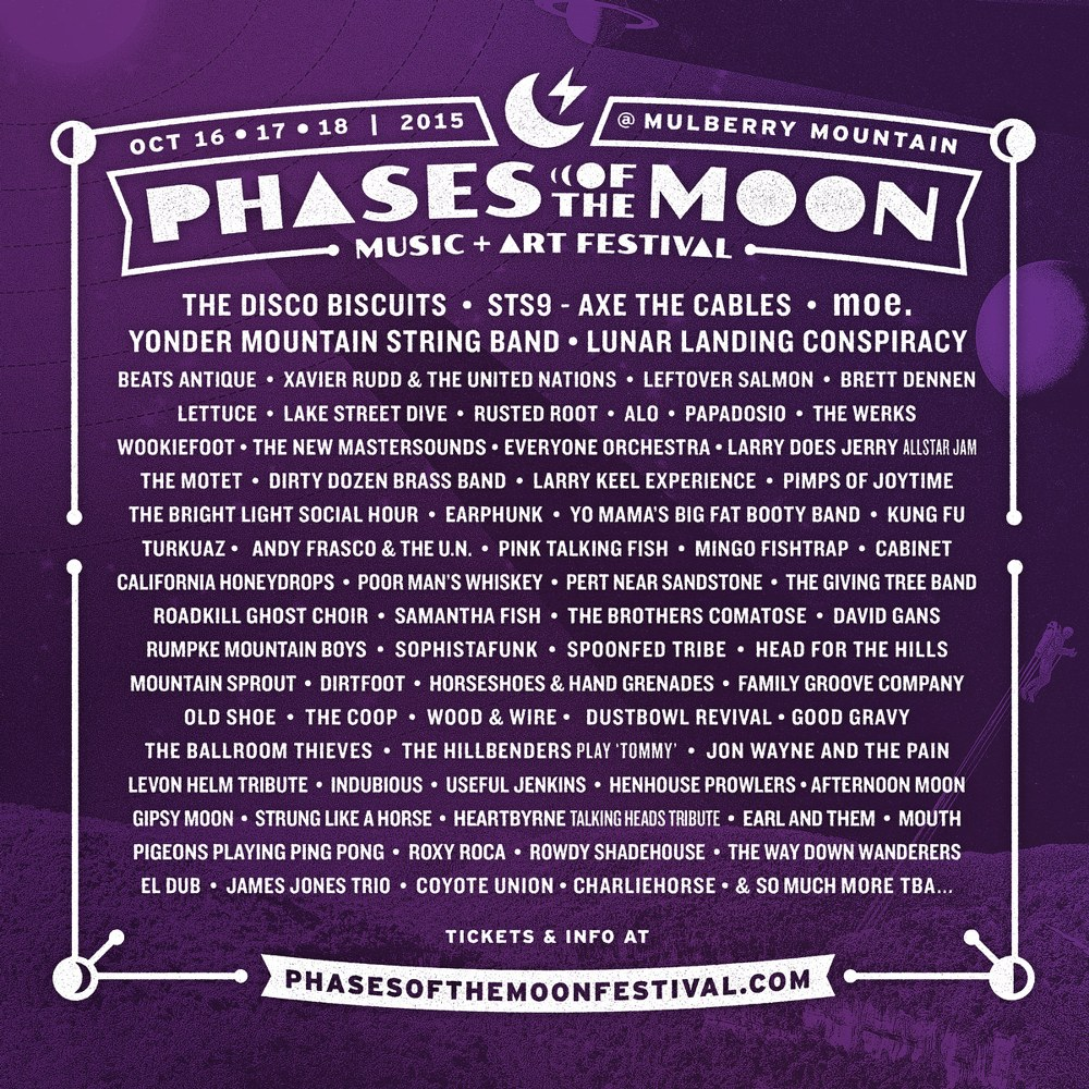 Phases of the Moon Music + Art Festival Canceled