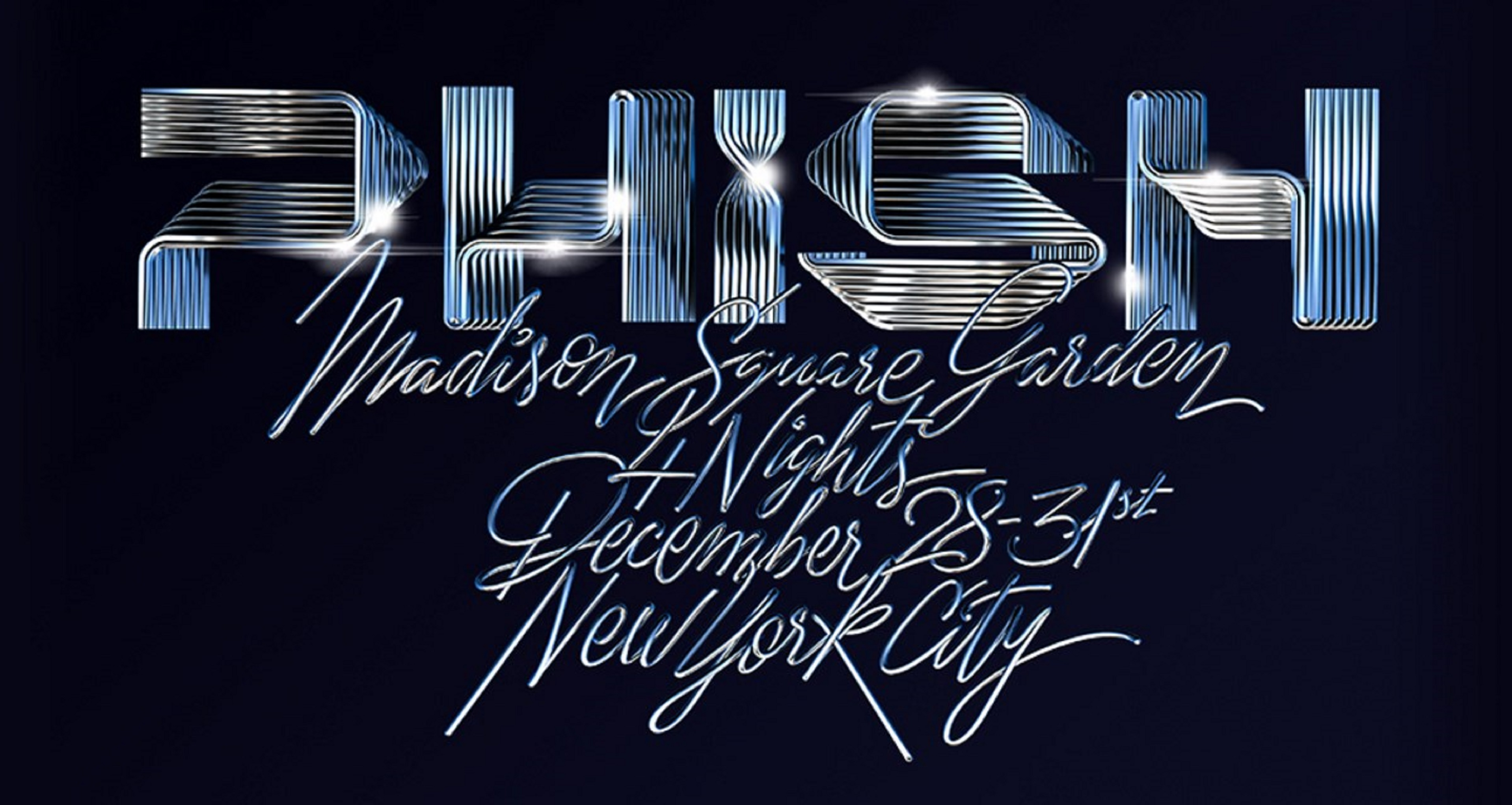 Phish New Year's Run Ticket Package Charity Auction