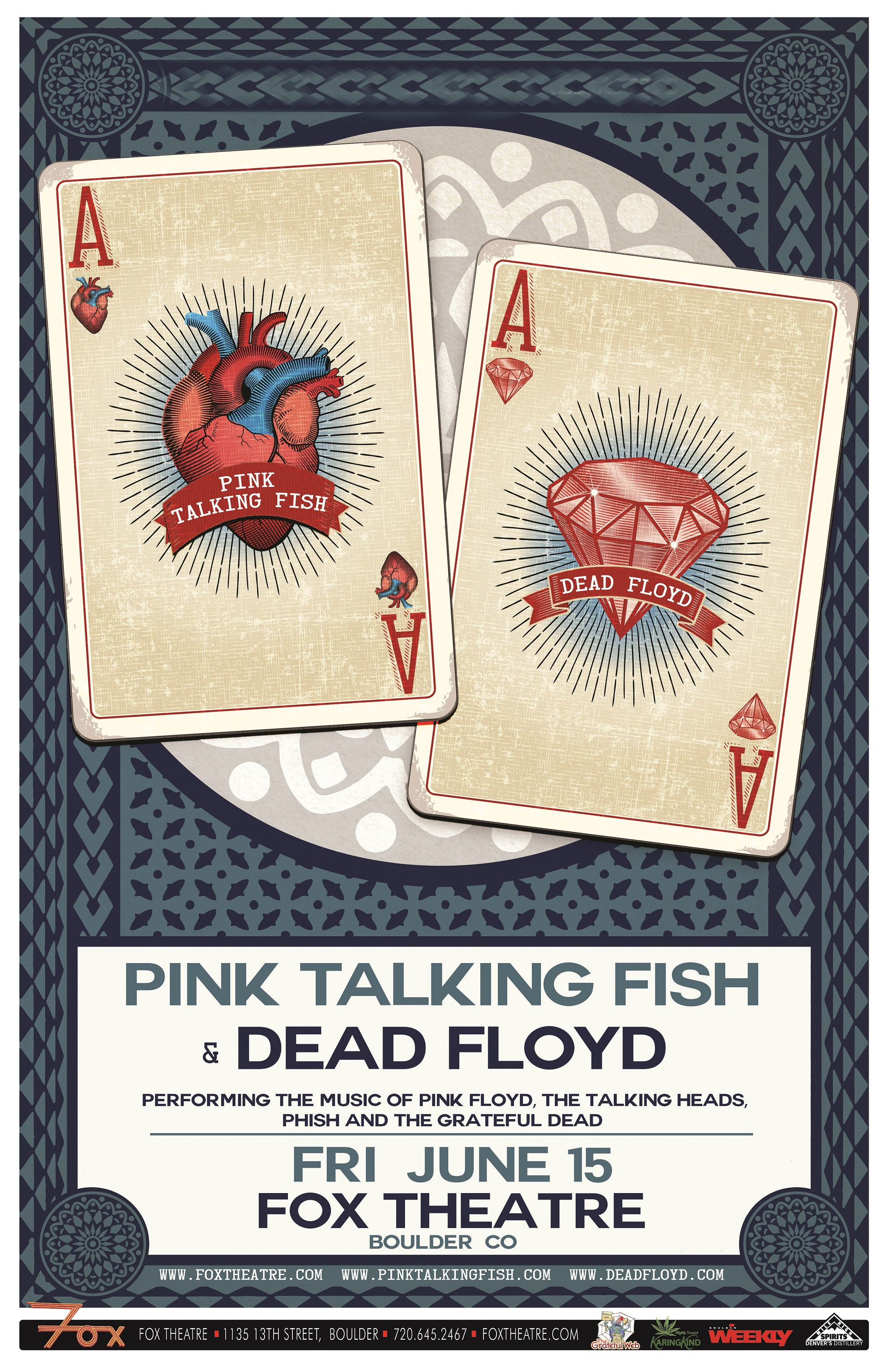 Pink Talking Fish & Dead Floyd @ The Fox | Preview
