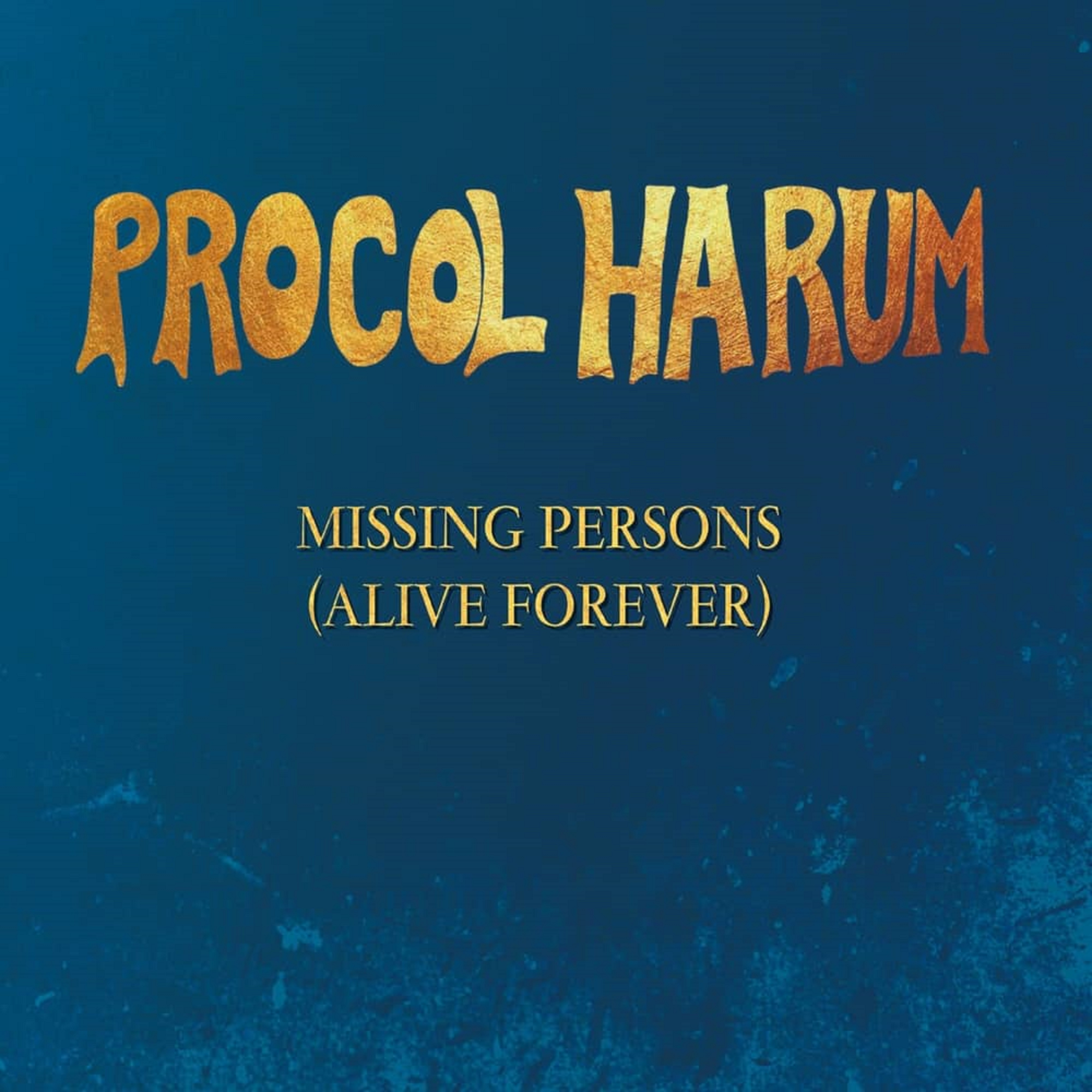 "Procol Harum To Release New EP ""Missing Persons"""