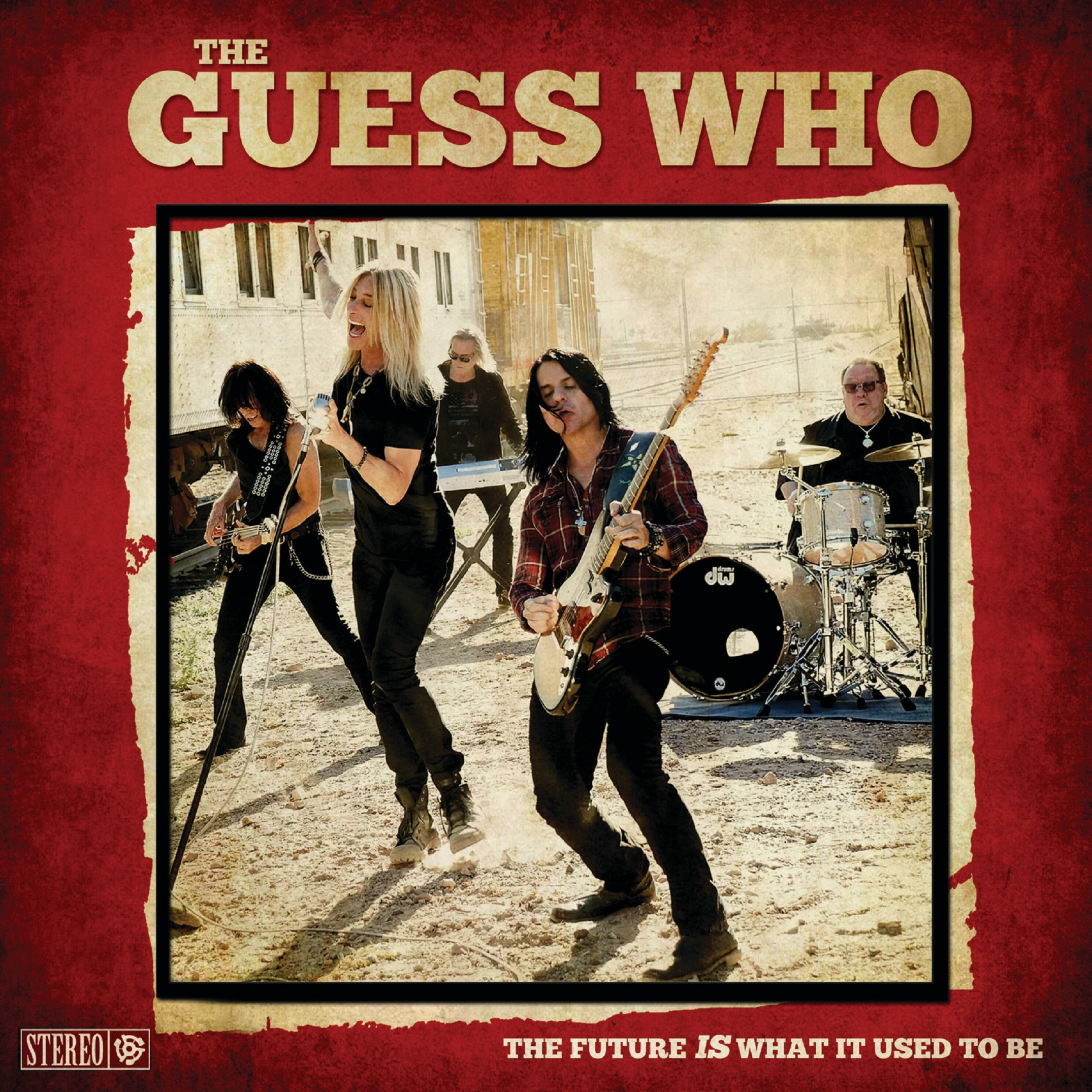 THE GUESS WHO RETURN WITH 'THE FUTURE IS WHAT IT USED TO BE'