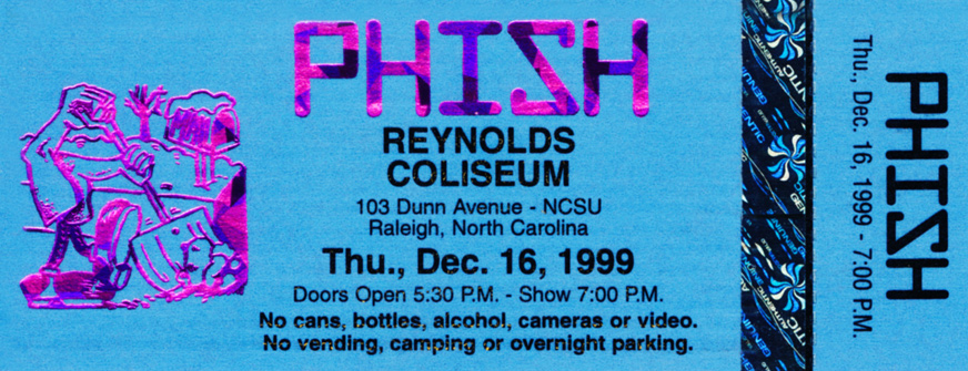 Phish | 12-16-99 | Raleigh, NC | Review