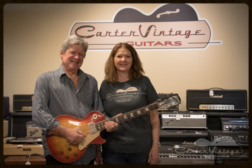 First Les Paul 'Burst Comes to Carter Vintage Guitars