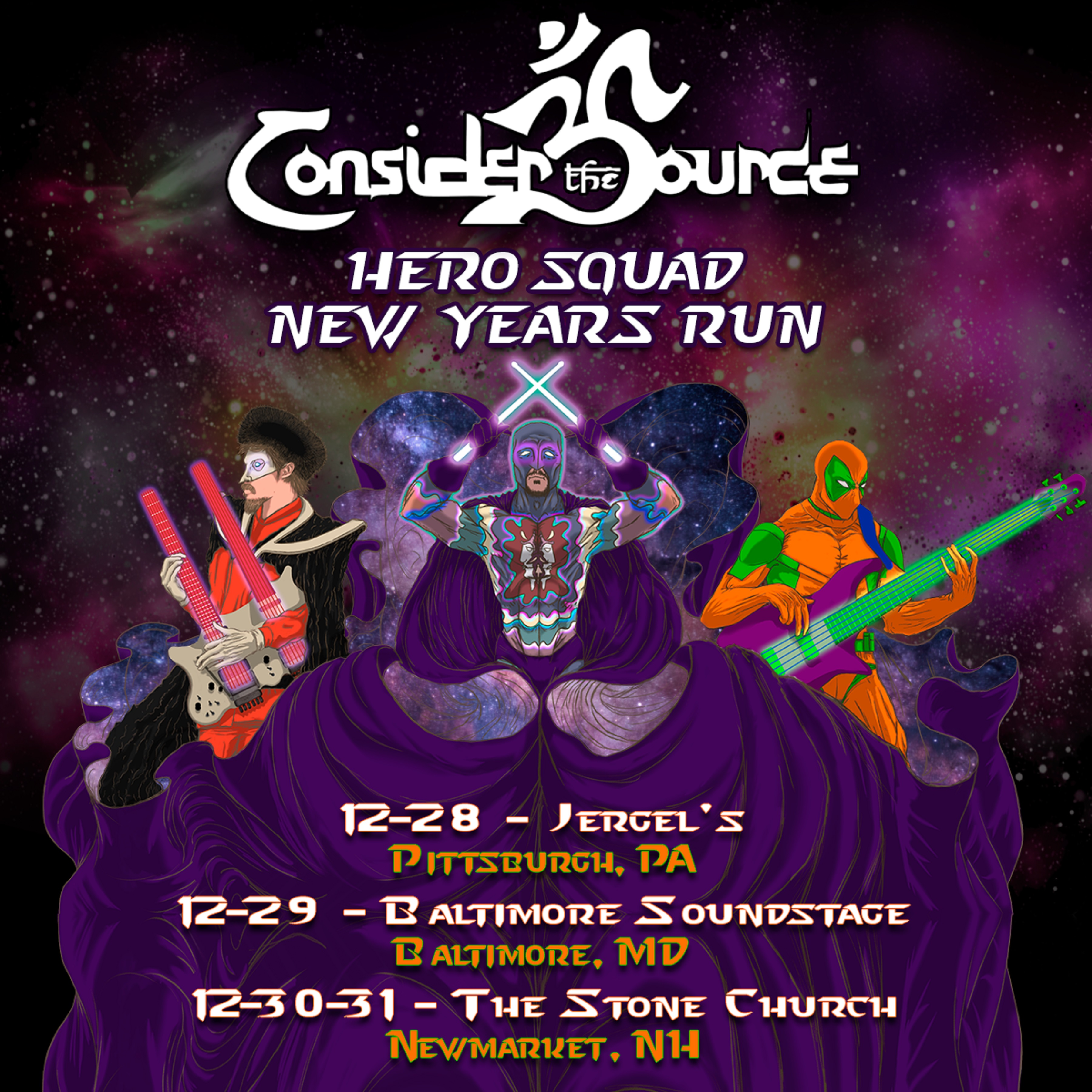 Consider the Source Announces Hero Squad New Year's Run