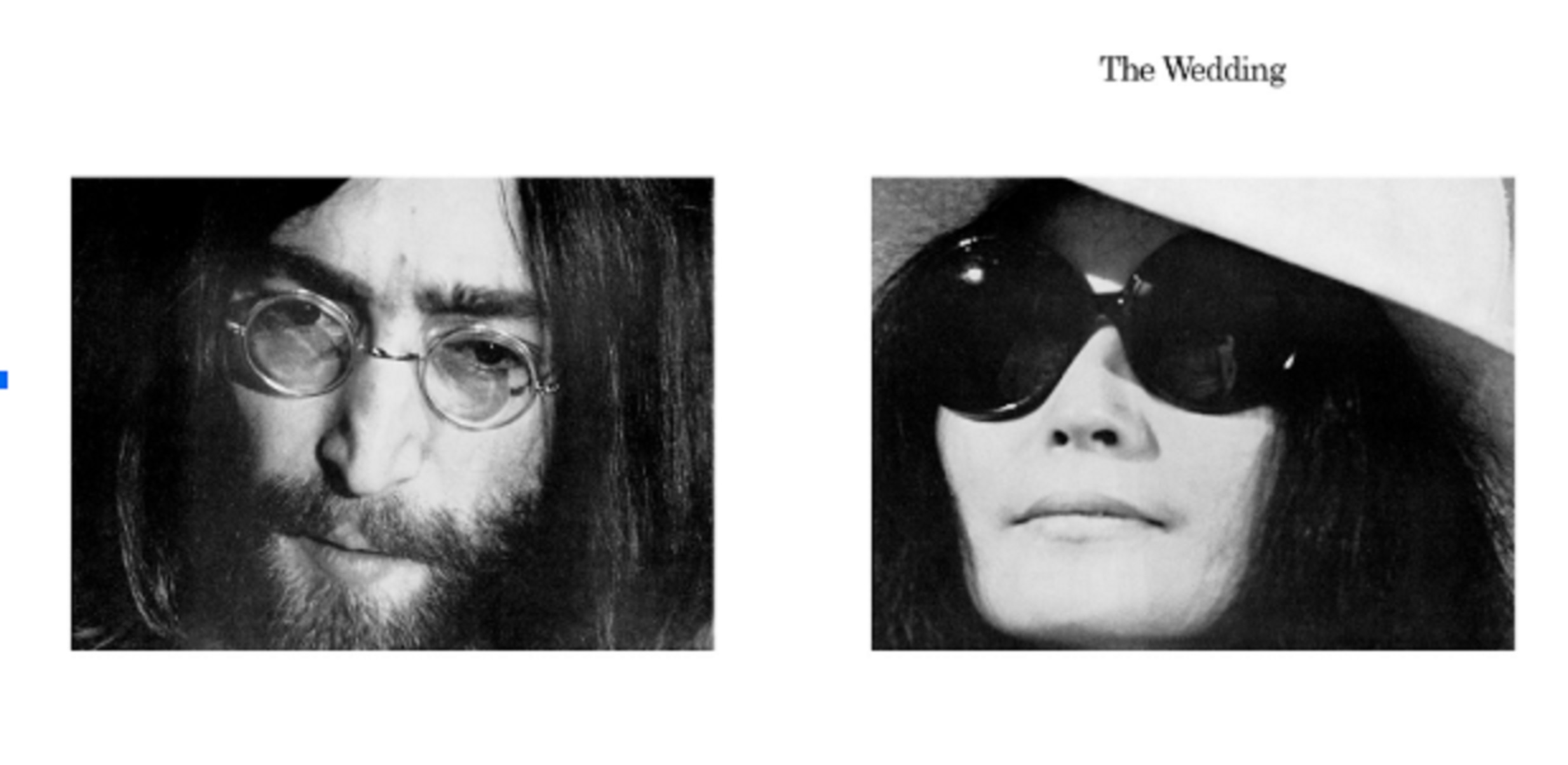 Yoko Ono Celebrates 50th Wedding Anniversary With Reissue Of 1969 Release 'Wedding Album'