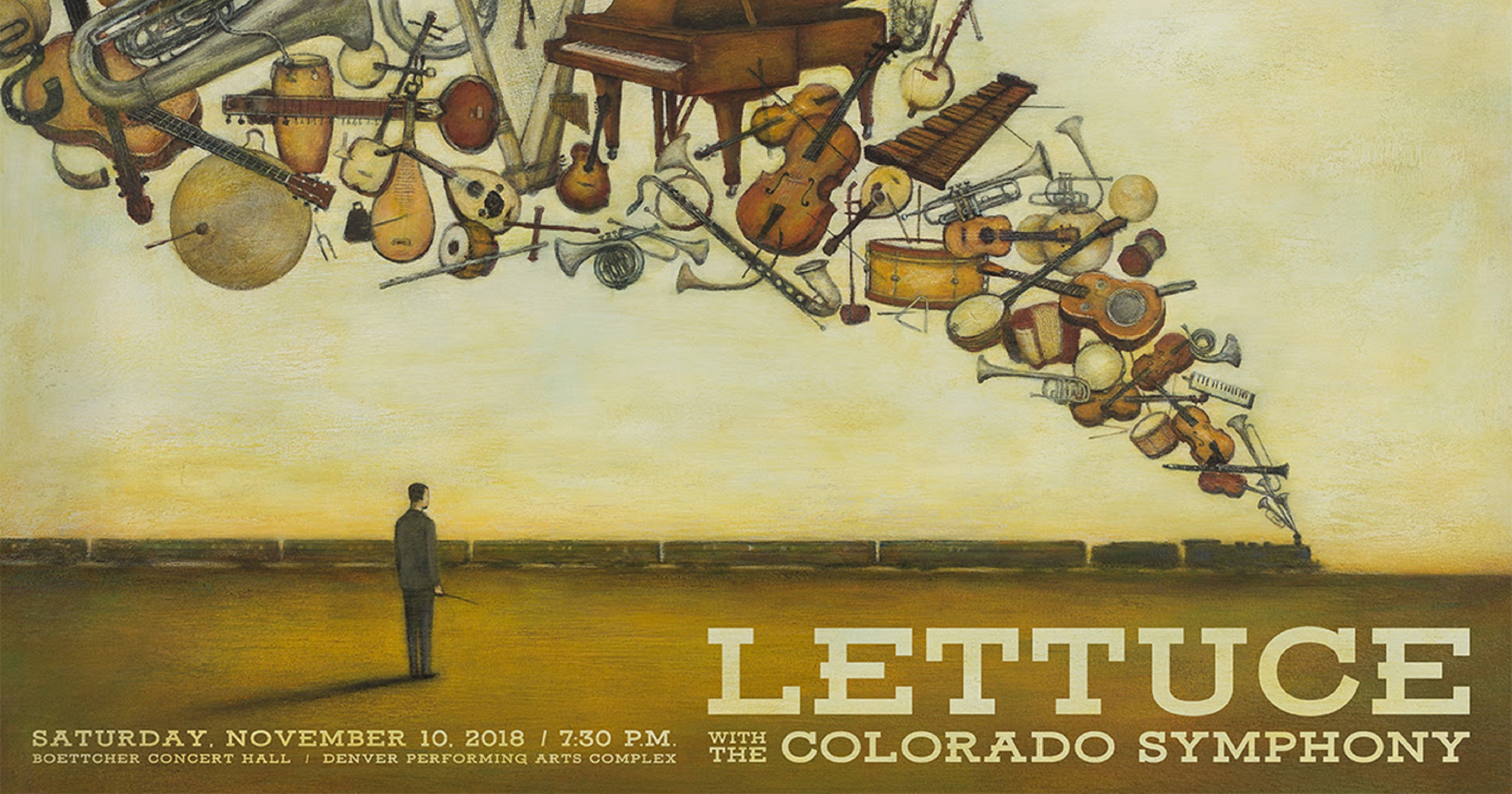 Get Fancy & Funky with Lettuce & The Colorado Symphony