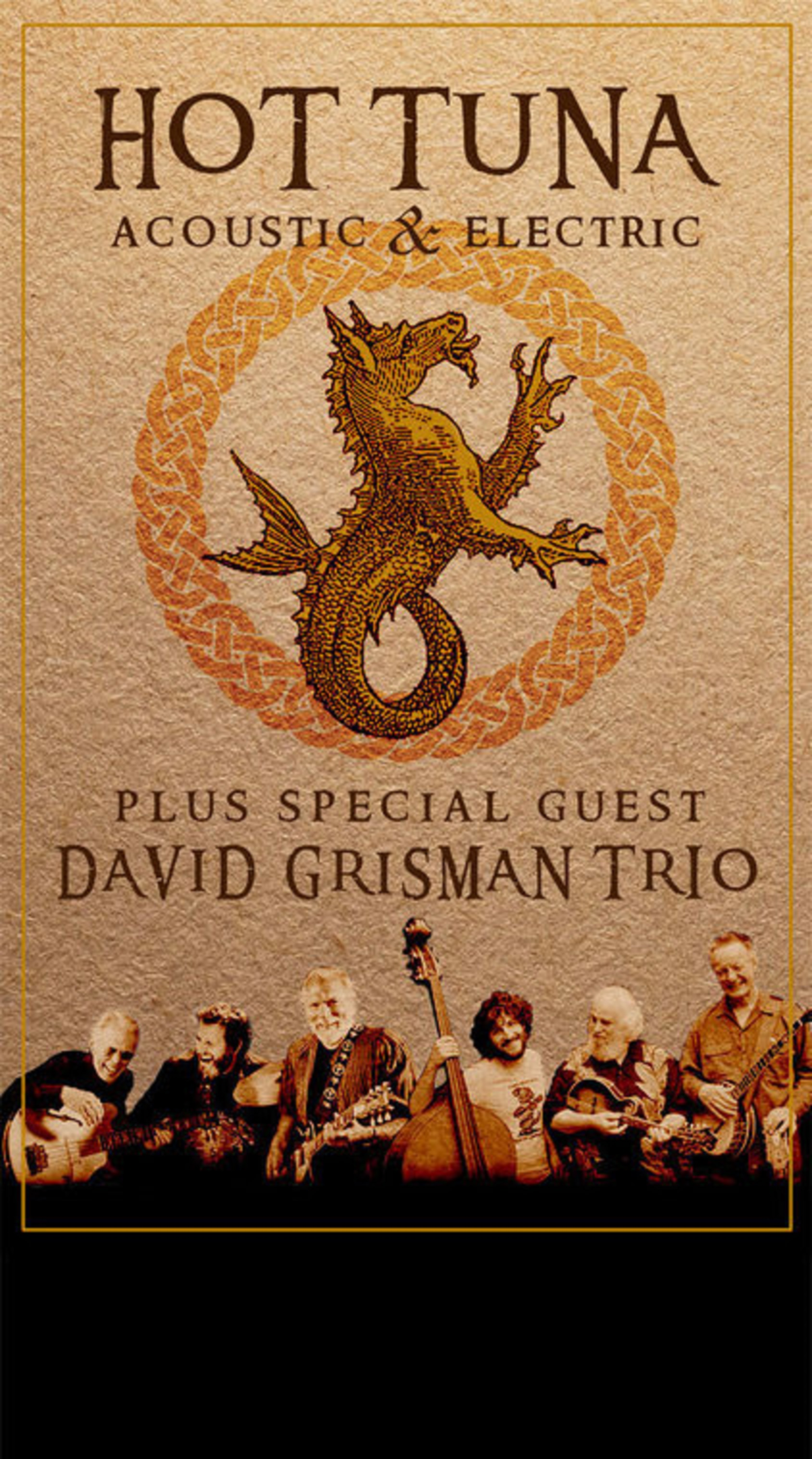 Hot Tuna + David Grisman Trio on Tour this Fall!