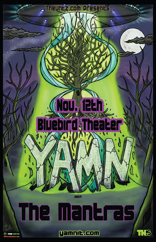 Catch Yamn in November at the Bluebird
