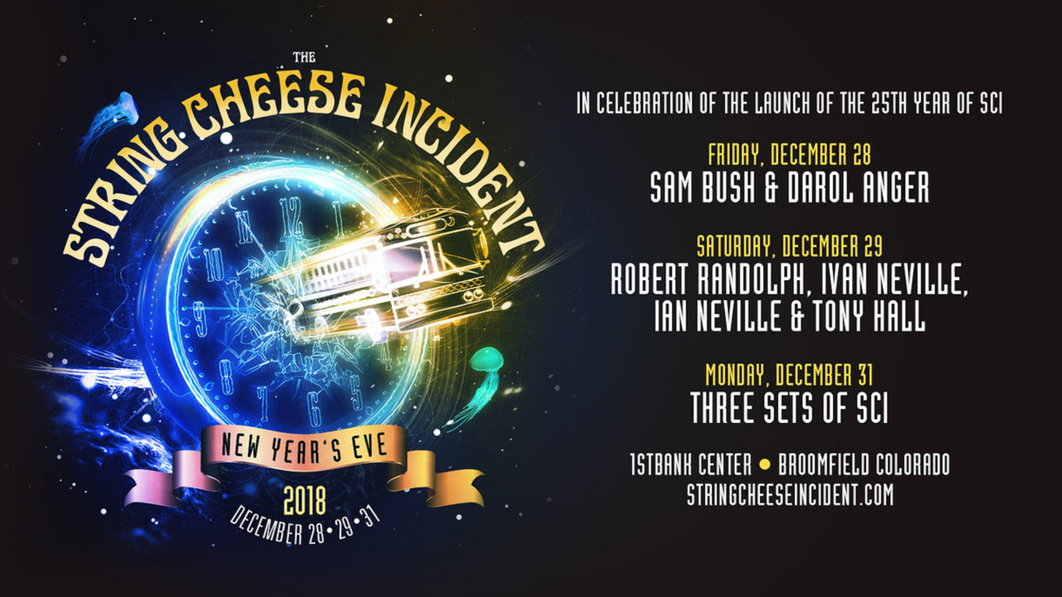 The String Cheese Incident Announces New Years Guests + New Track