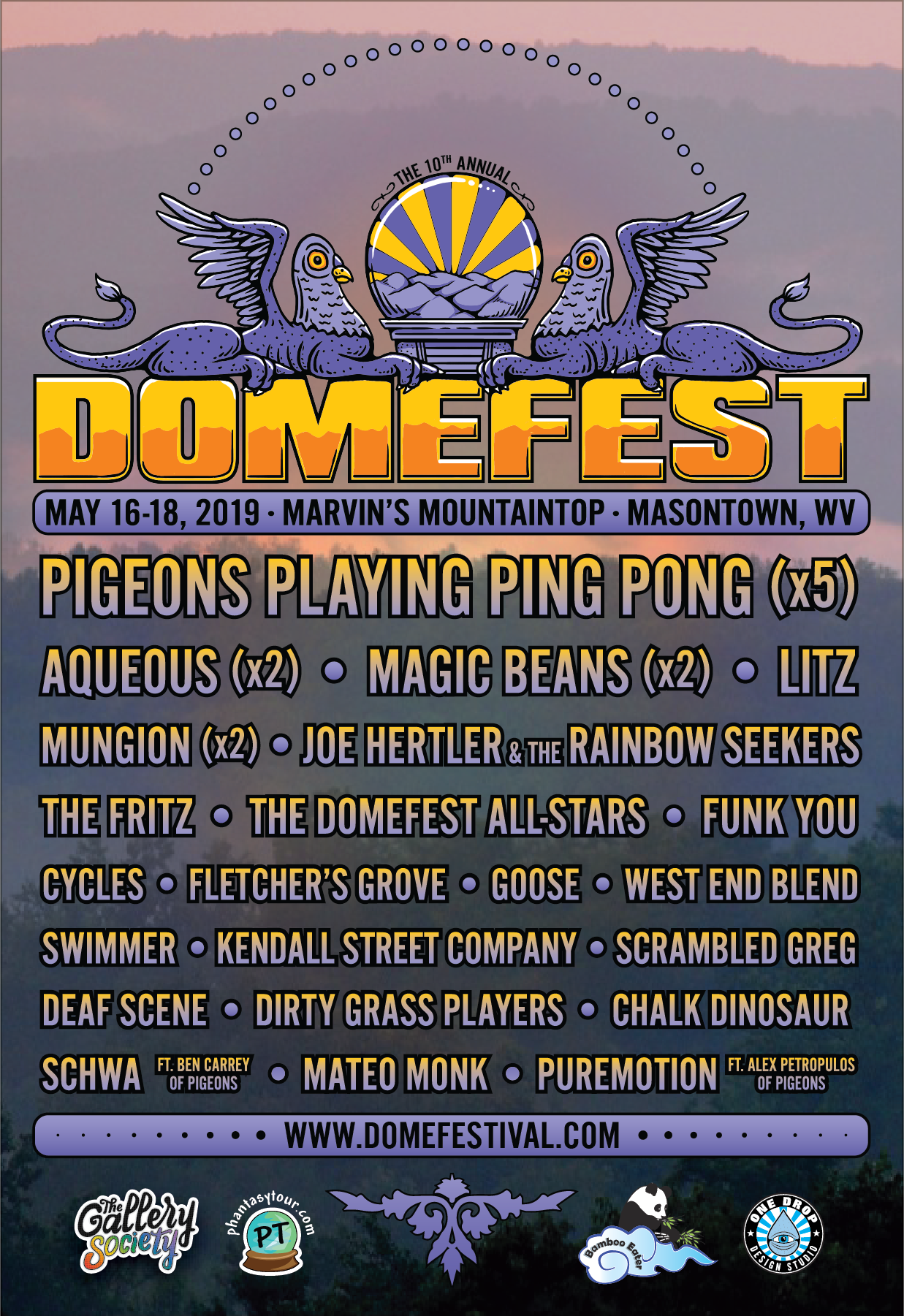 Domfest Shares Final Lineup for 10th Year
