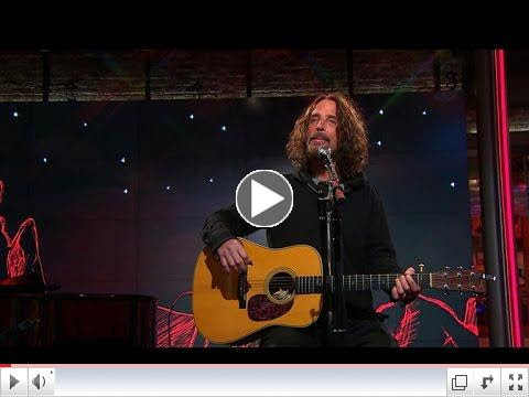 Chris Cornell Performs On CBS This Morning Saturday