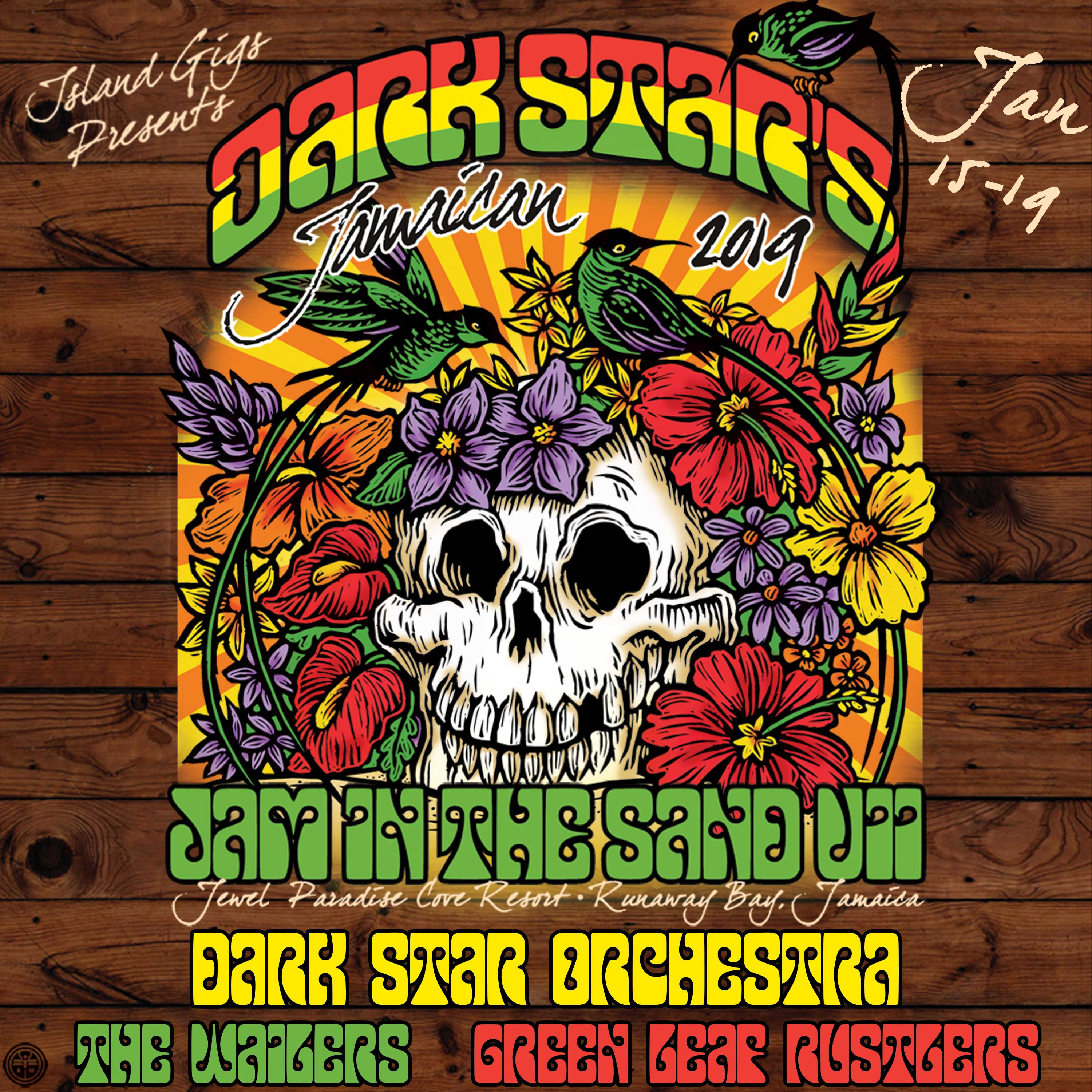 Dark Star Orchestra Announces 7th Annual Jamaican Jam in the Sand