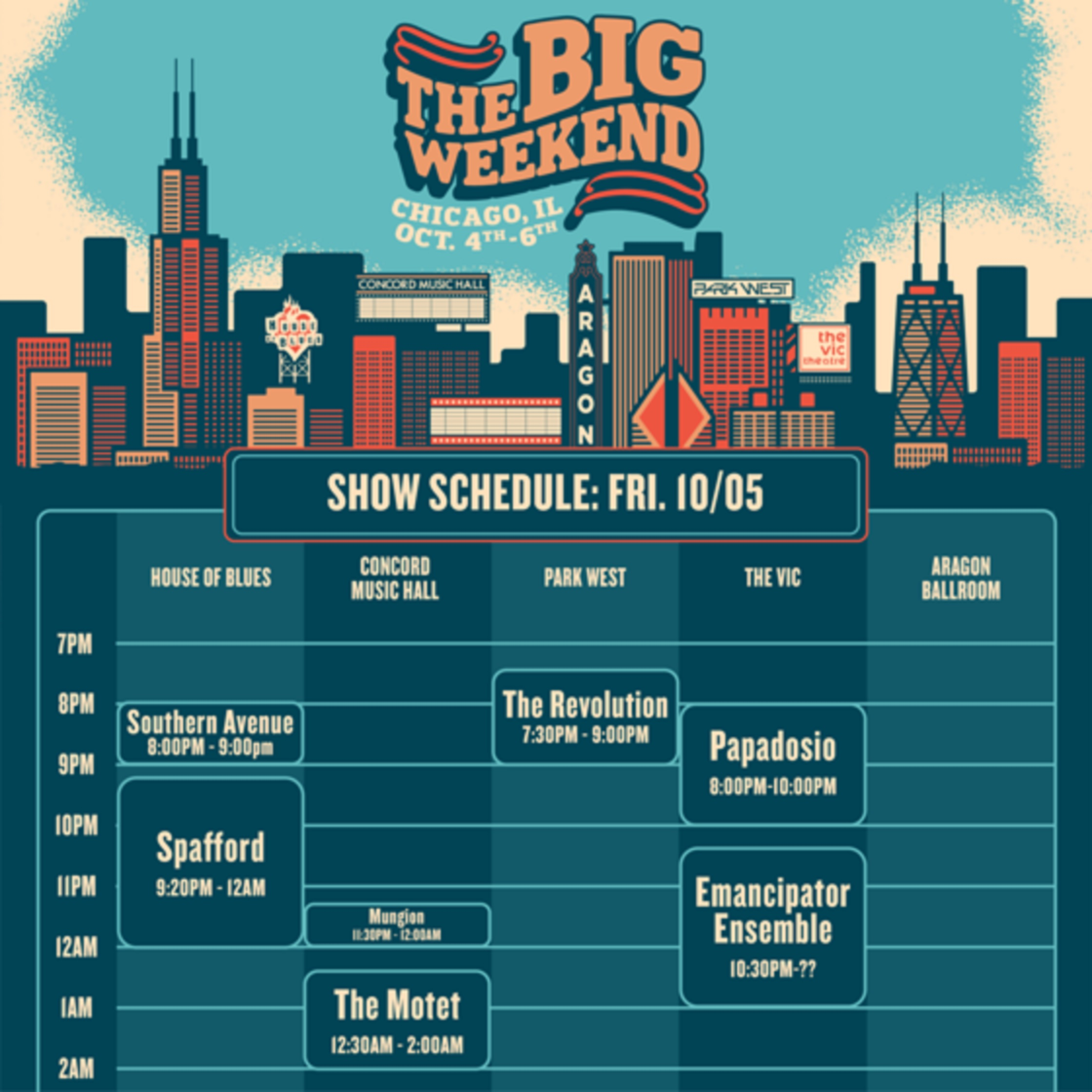 The Big Weekend | Inaugural Festival This Weekend