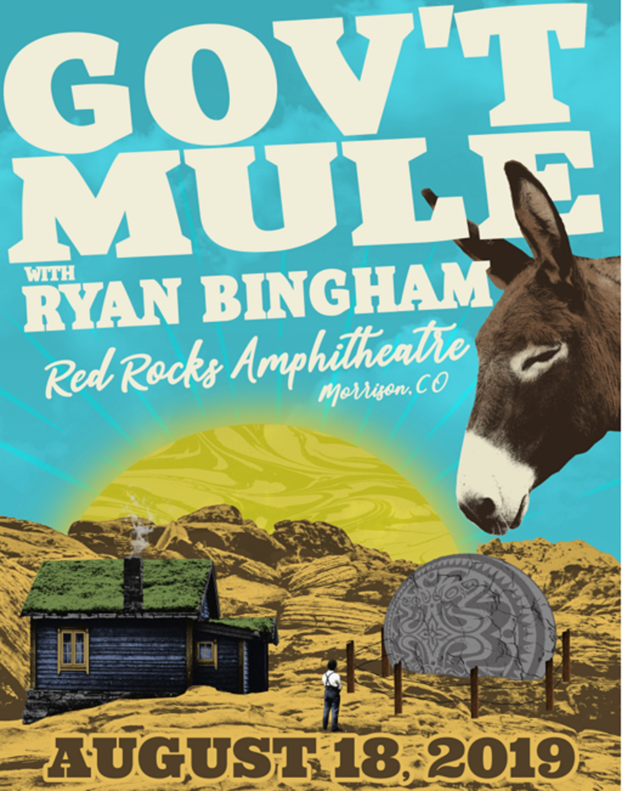 Gov't Mule Announce Red Rocks Performance