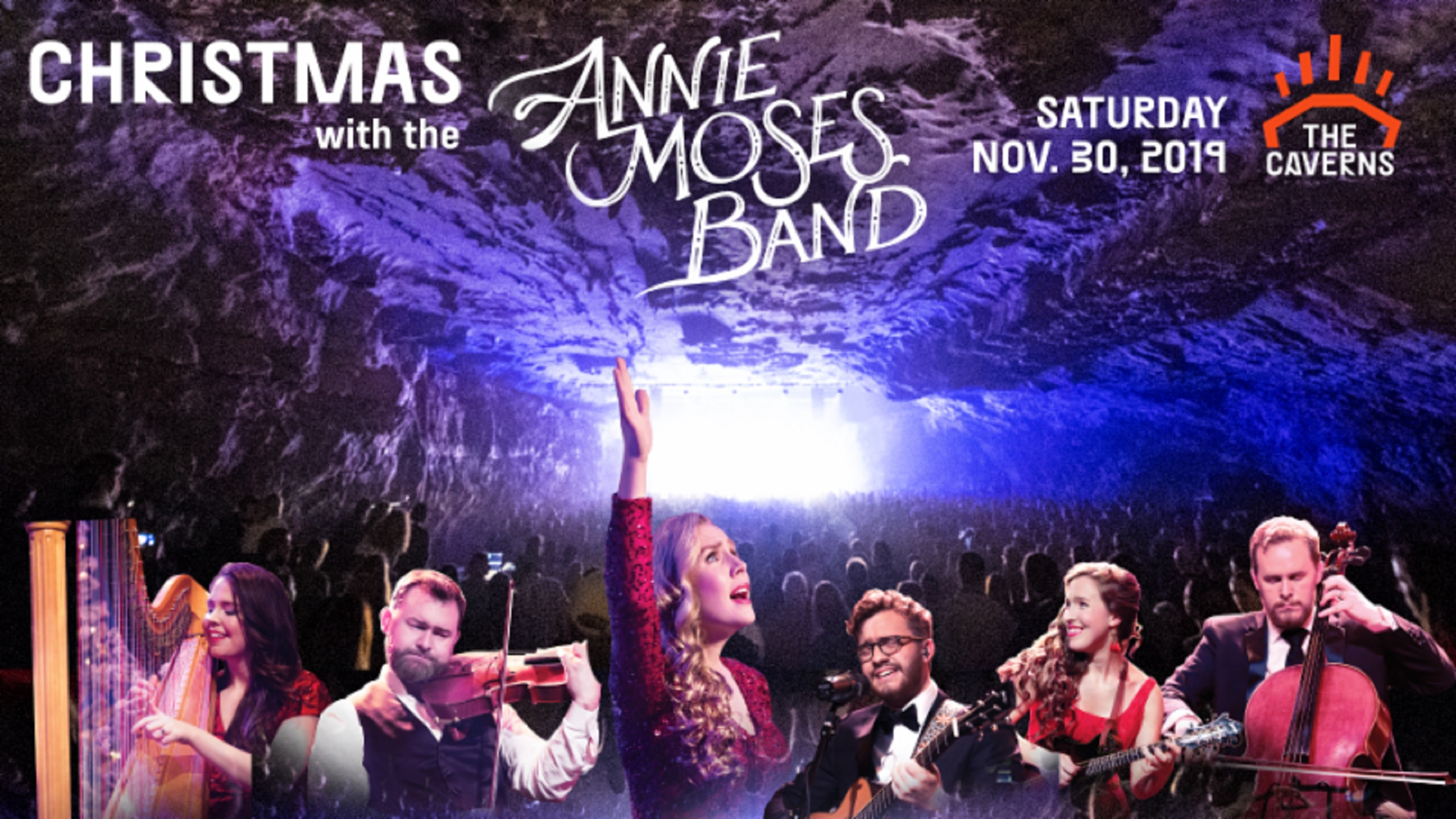 Coming to The Caverns: Christmas with the Annie Moses Band