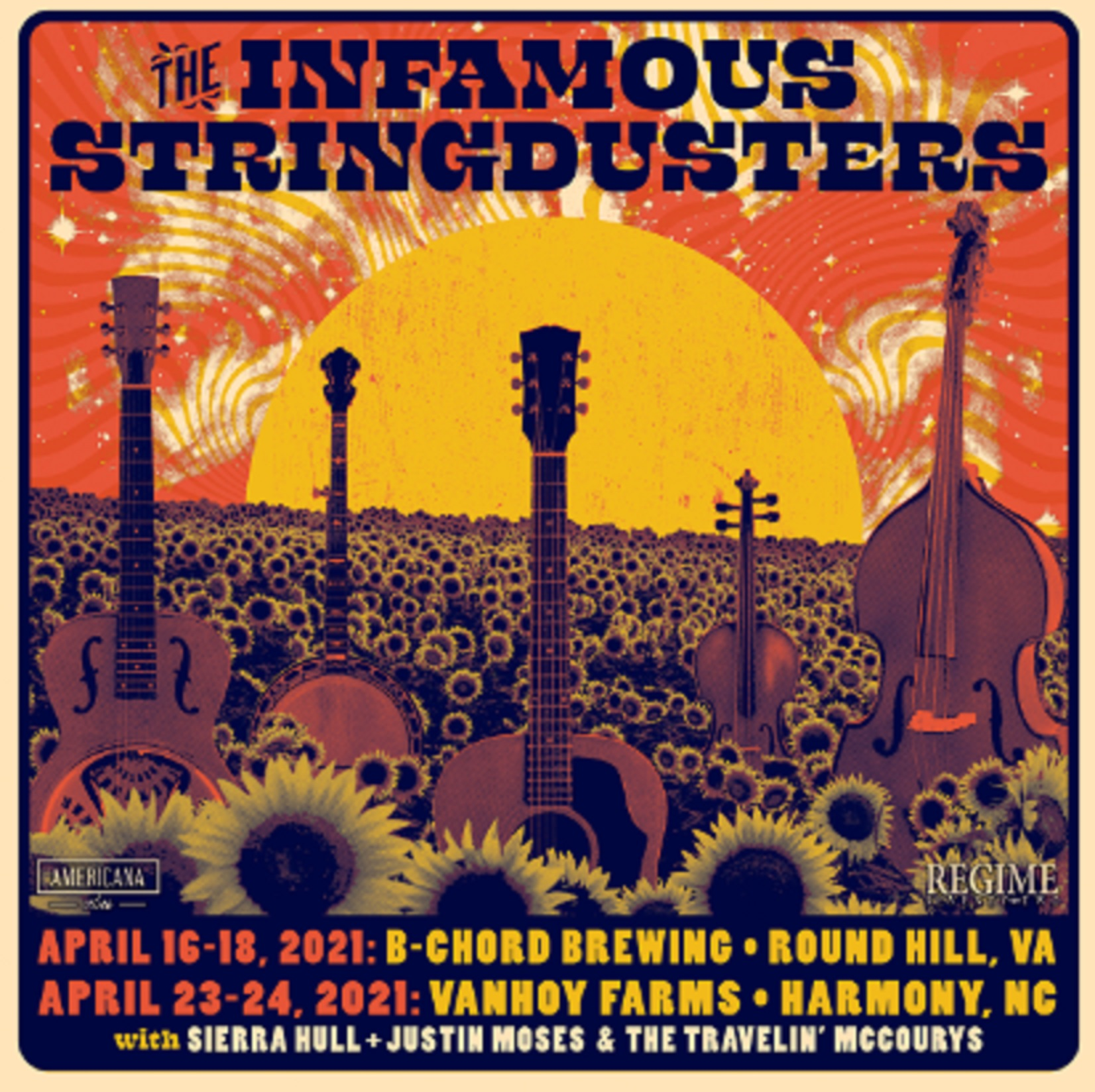 The Infamous Stringdusters Announce April Weekend Shows in Virginia, North Carolina