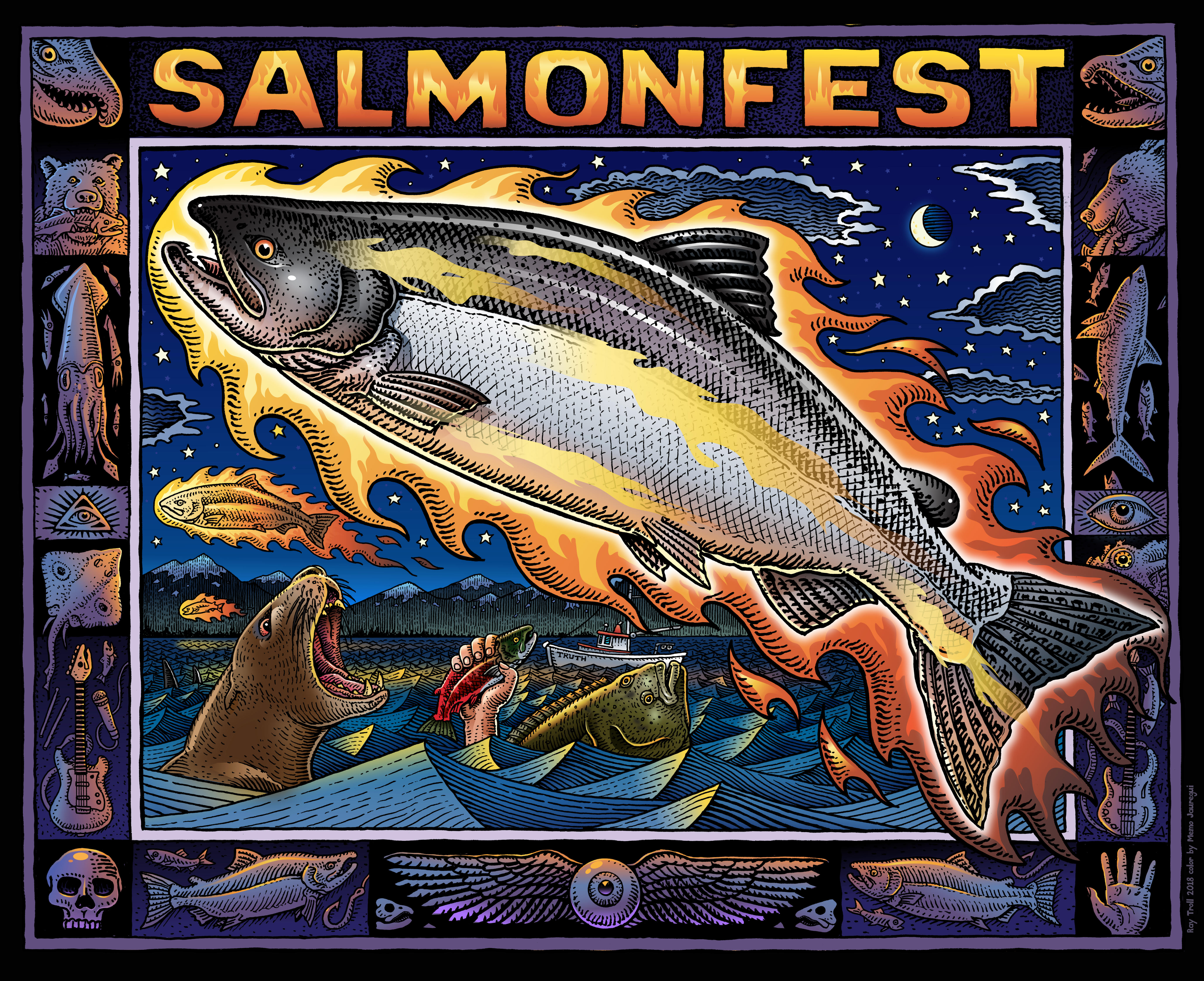 FEMALE HEADLINERS ROCK SALMONFEST 2018!