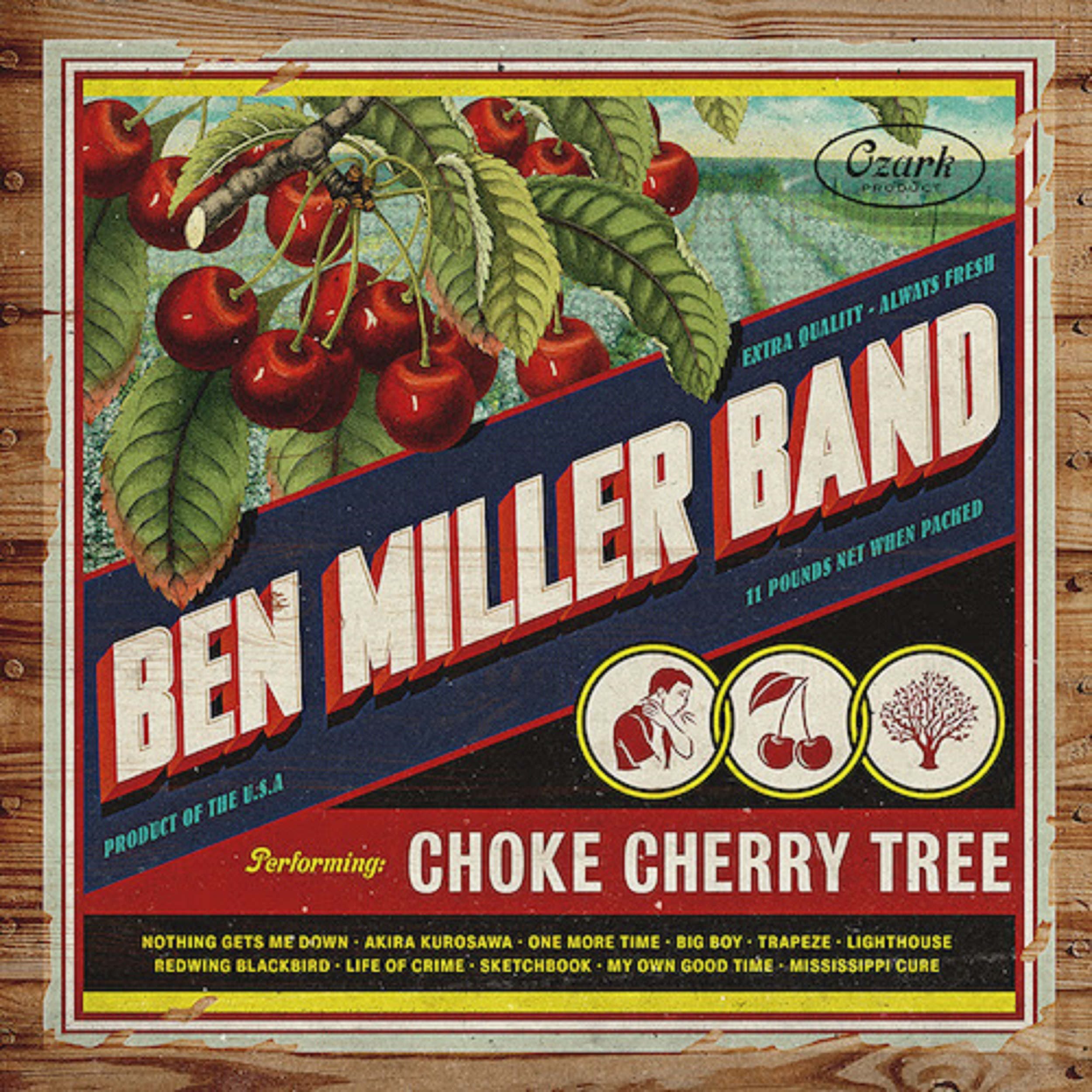 Ben Miller Band Returns With 'Choke Cherry Tree'