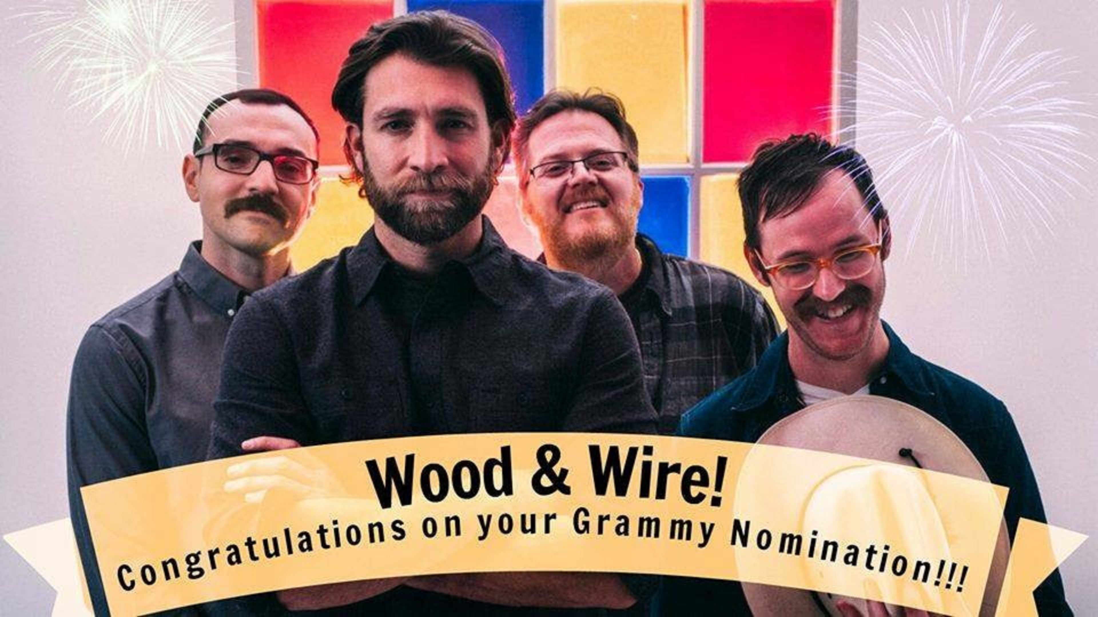 Wood & Wire Grammy Nomination for Best Bluegrass Album