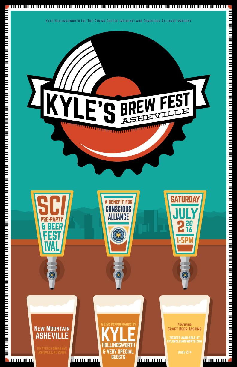 Kyle's Brew Fest ASHEVILLE Tixs On Sale