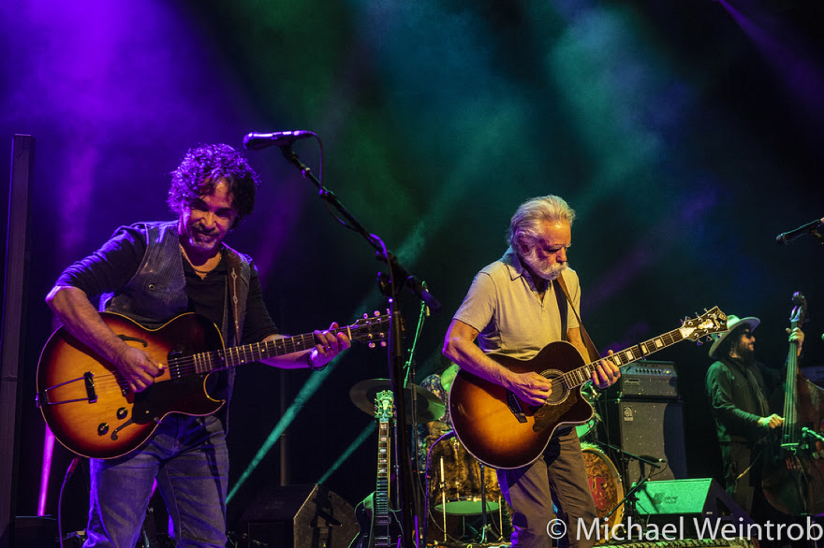 John Oates Takes the Stage with Bob Weir and Wolf Bros