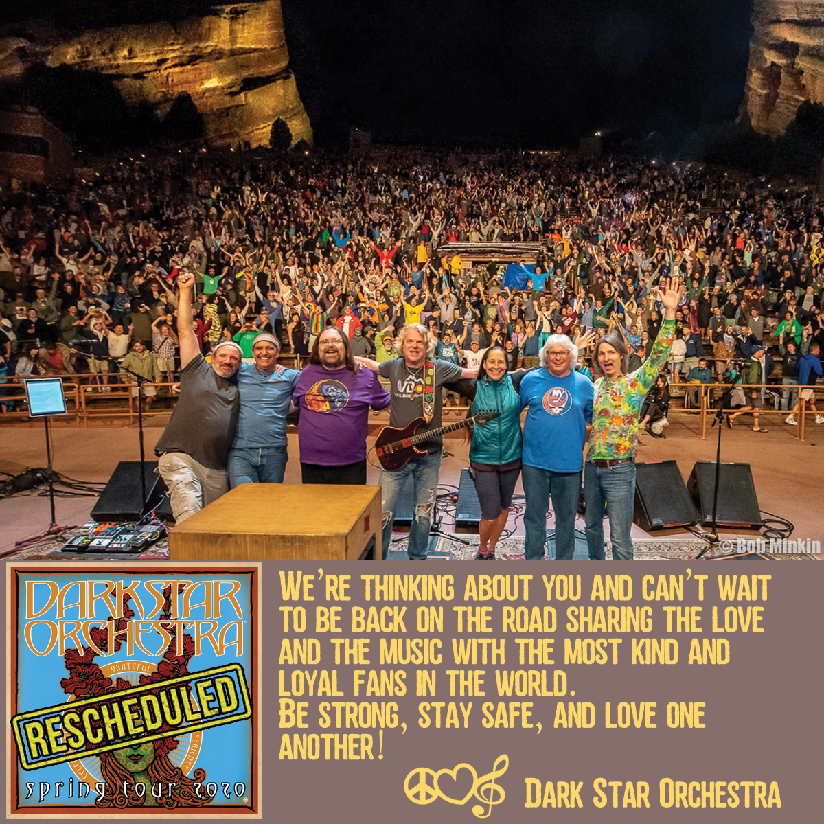 Dark Star Orchestra Postpones Spring Tour, Reschedules Dates