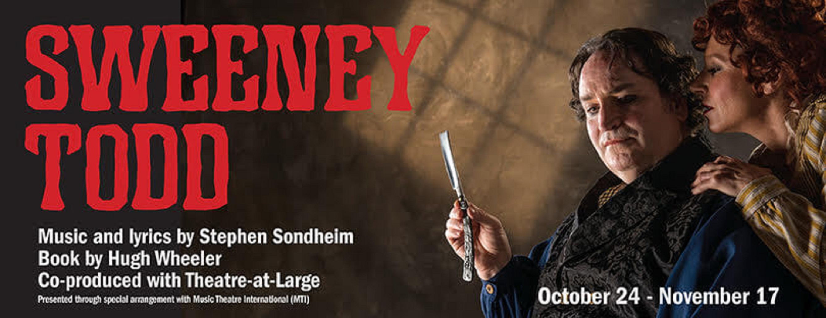 Novato Theater Company And Theatre-at-Large presents Sweeney Todd