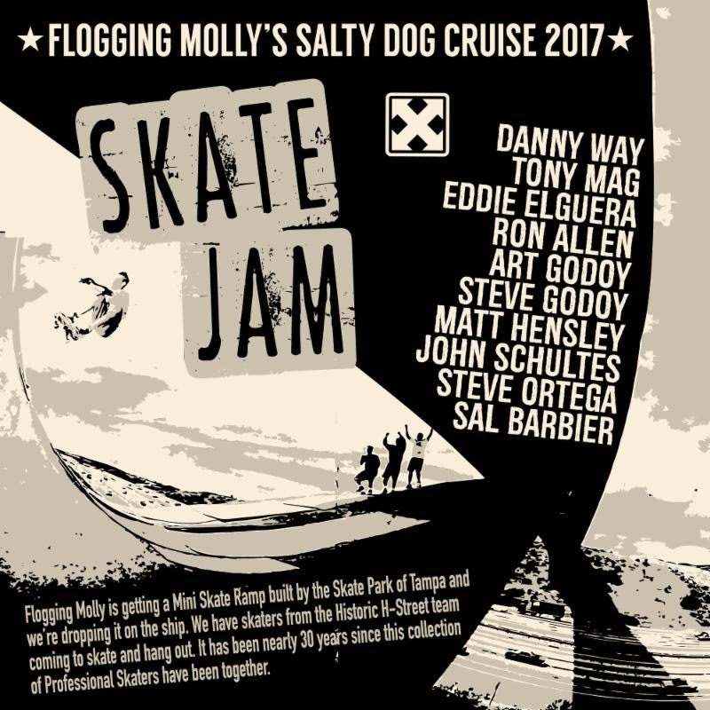 Flogging Molly Cruise 2020.Flogging Molly S Salty Dog Cruise In March Grateful Web