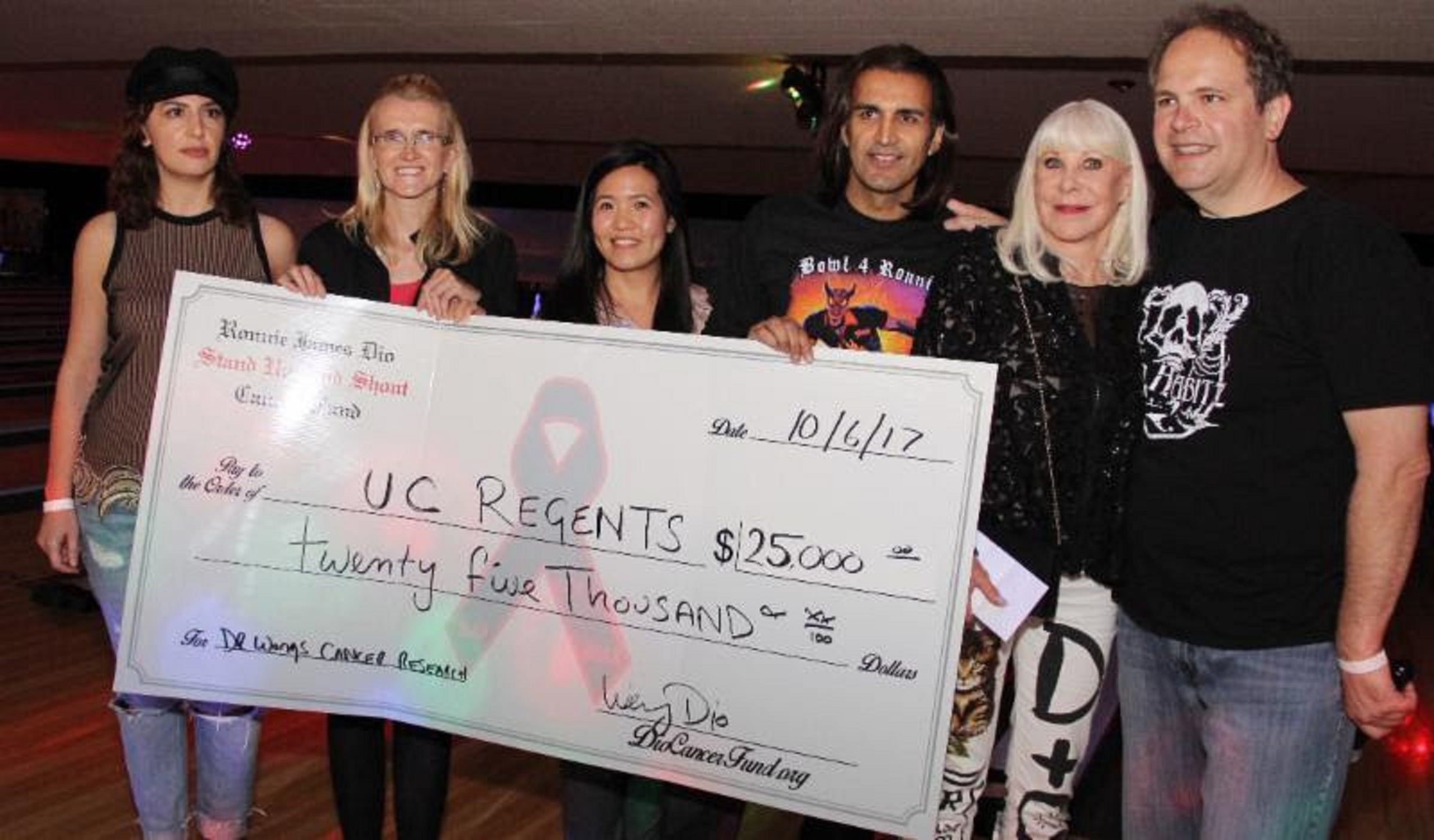 'Bowl for Ronnie' Raises $49,000 for Dio Cancer Fund