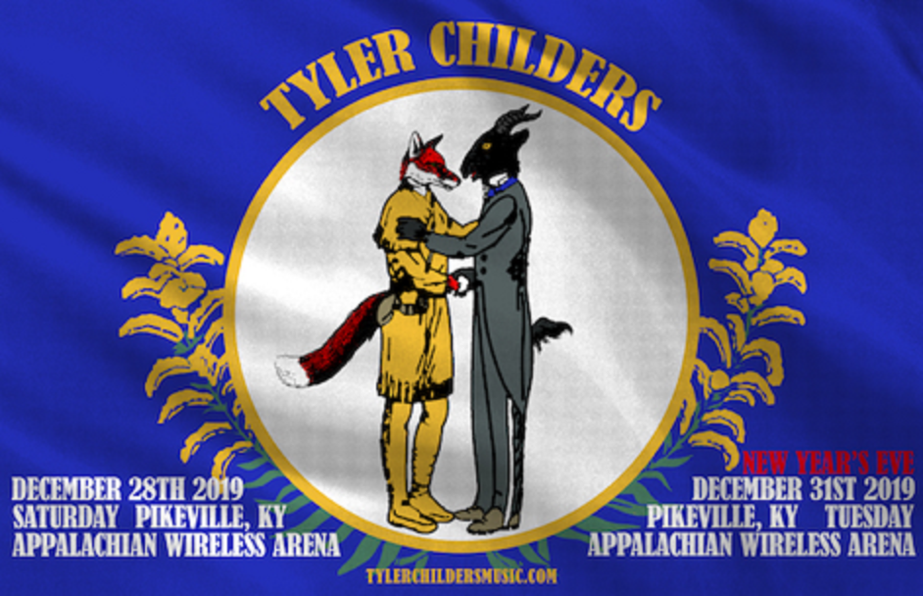 "Tyler Childers confirms two night ""New Year's Eve Run 2019"""