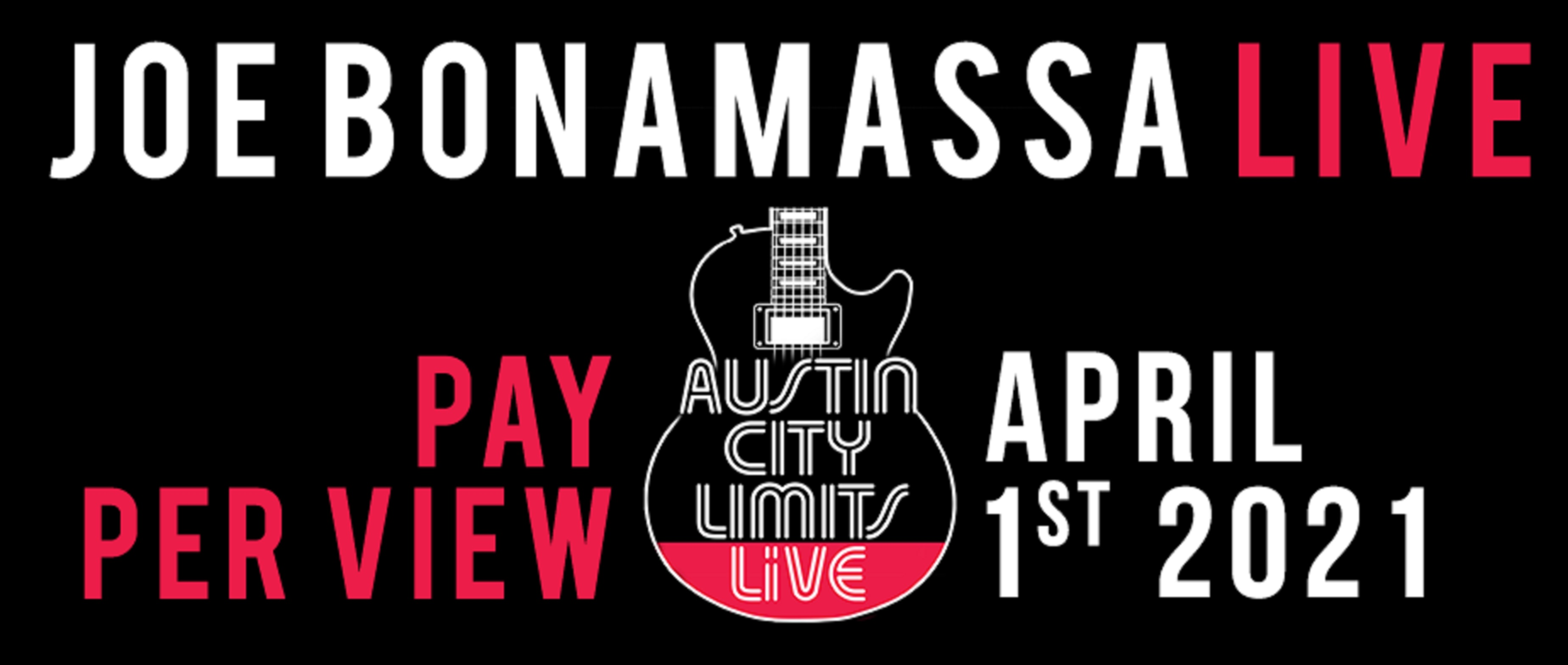 Joe Bonamassa livestream from ACL Live; Event to raise money for Fueling Musicians