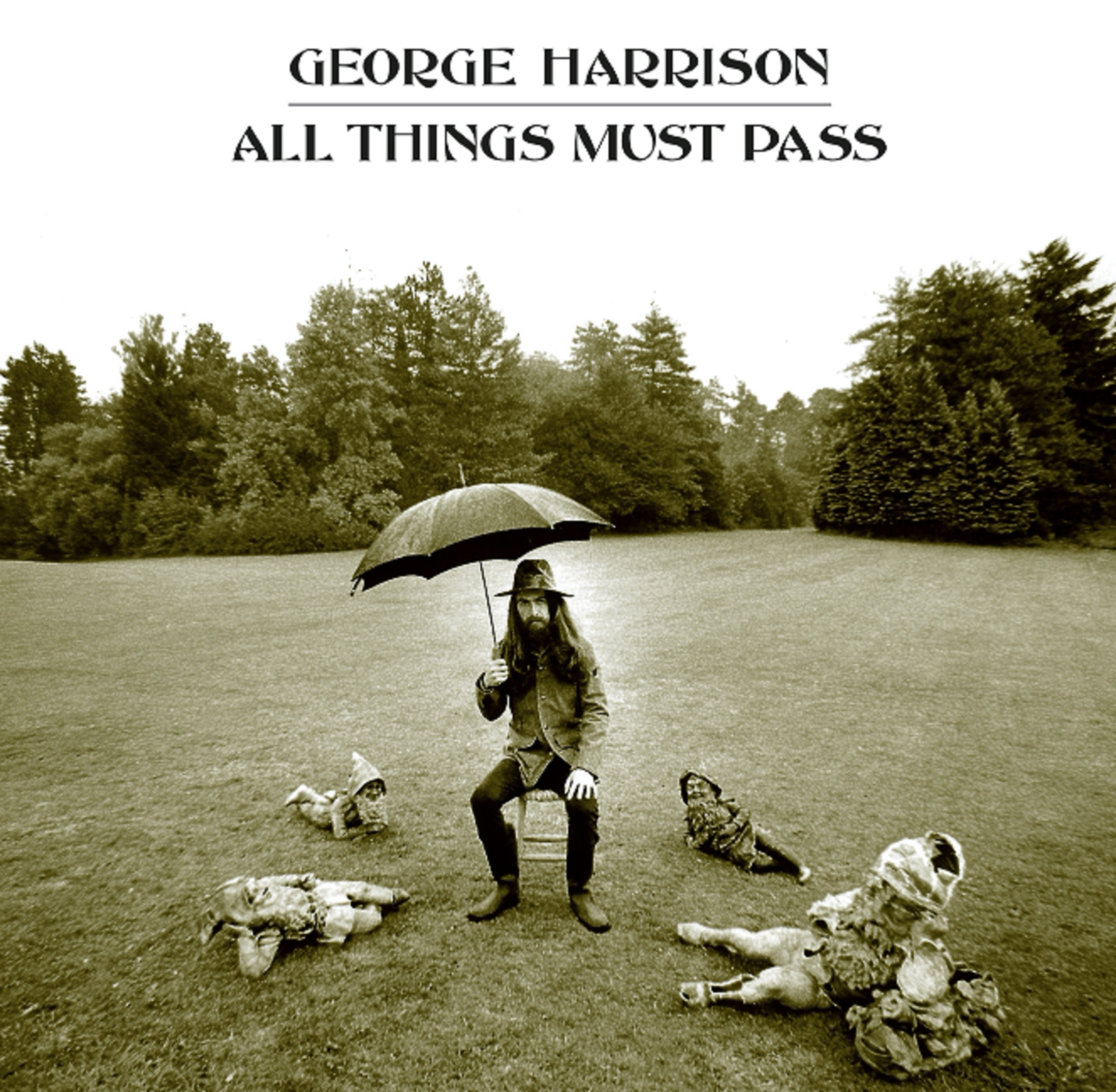 George Harrison's seminal 1970 album 'All Things Must Pass' celebrated with new stereo mix of legendary title track on 50th anniversary