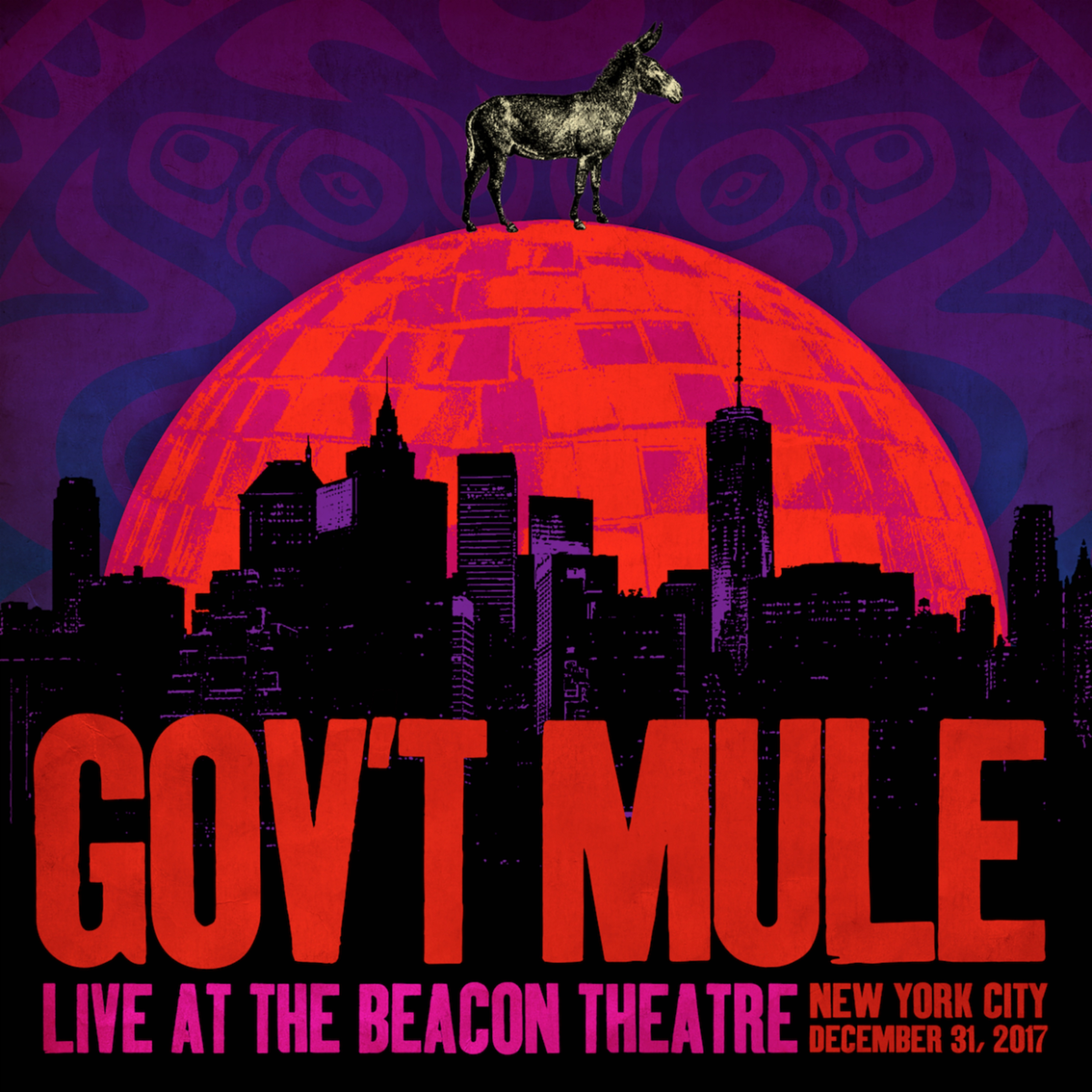 Gov't Mule Releases Live Album 'Live At The Beacon Theatre'