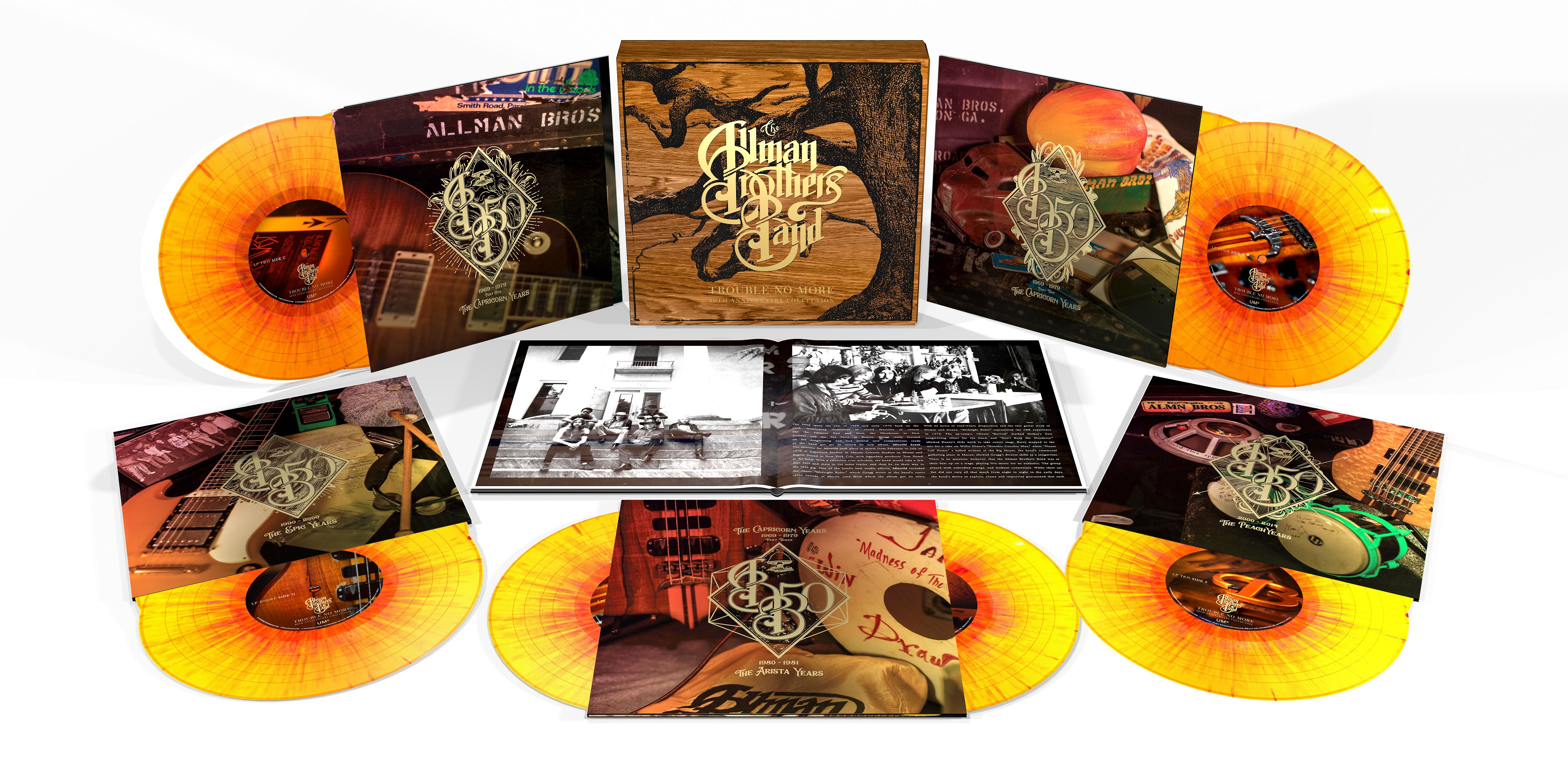The Allman Brothers Band's 50th Anniversary Celebrated With Massive Career-Spanning Retrospective