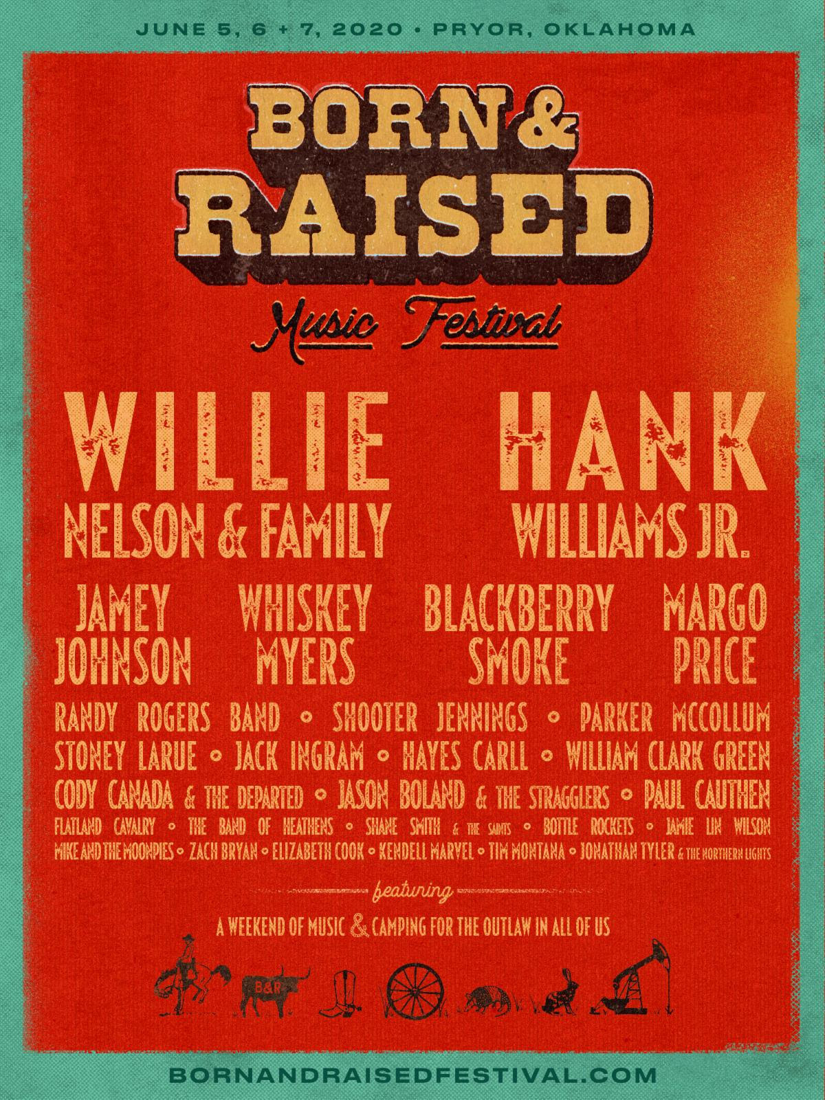 BORN & RAISED MUSIC FESTIVAL Adds Jason Boland & The Stragglers and Jamie Lin Wilson To Inaugural Lineup