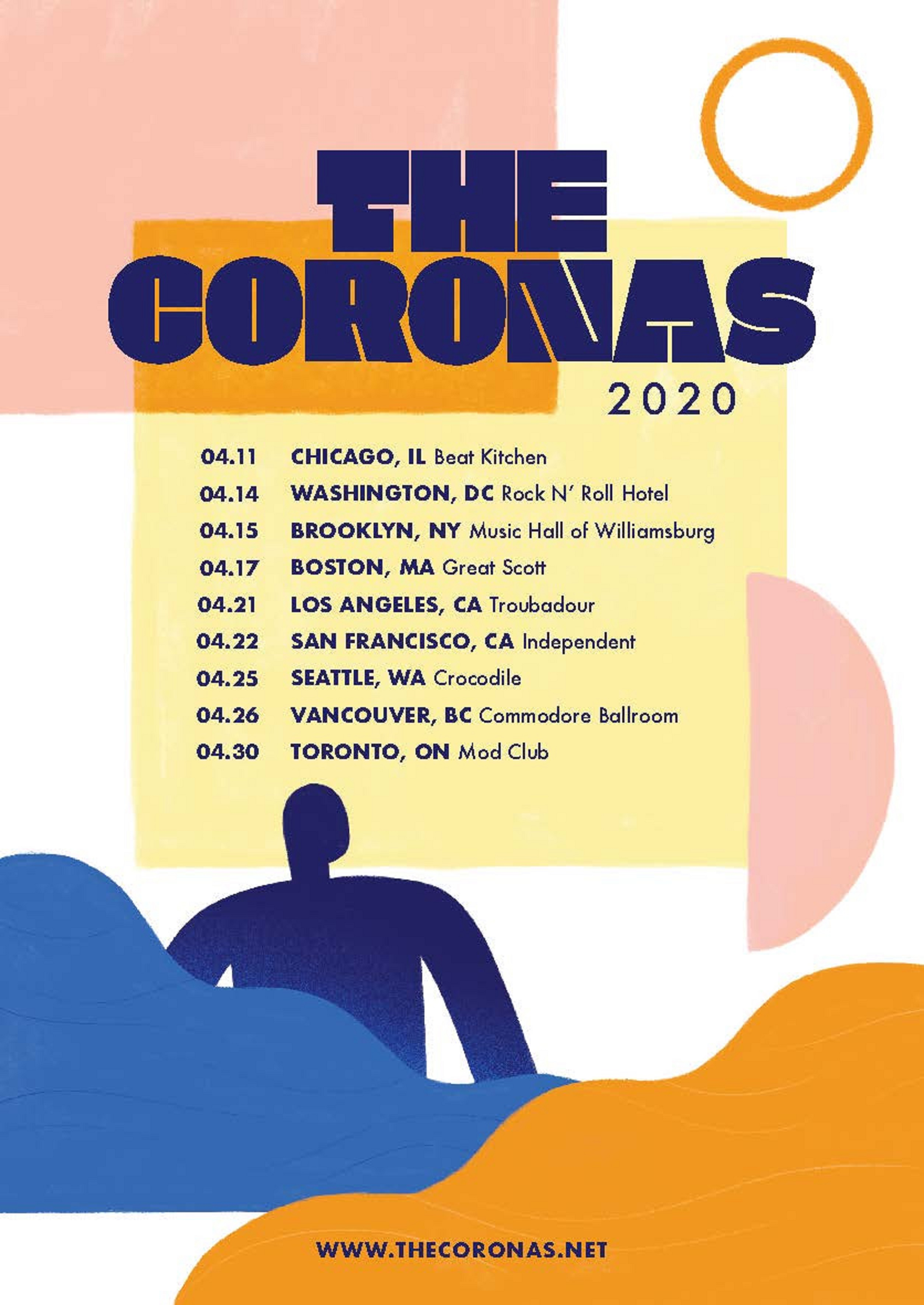 "The Coronas Release ""Haunted"" Single Ahead of April North American Tour"