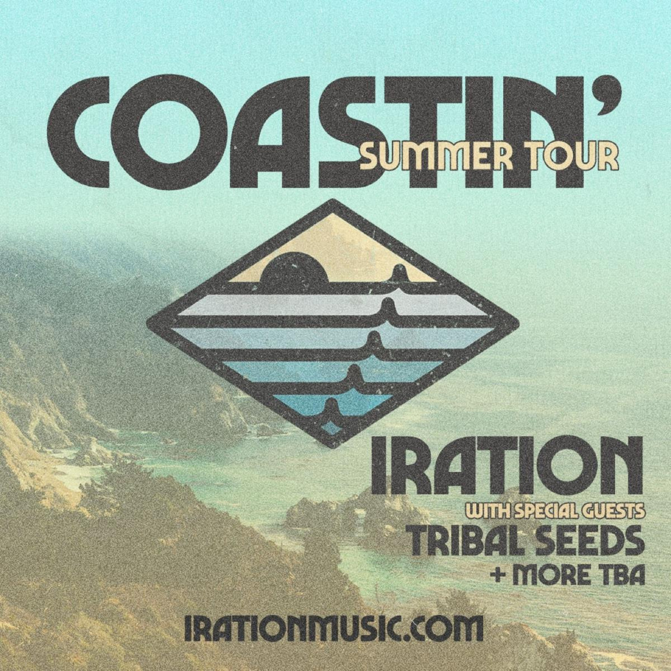 IRATION Announces New Album Coastin' And Summer Headlining Tour
